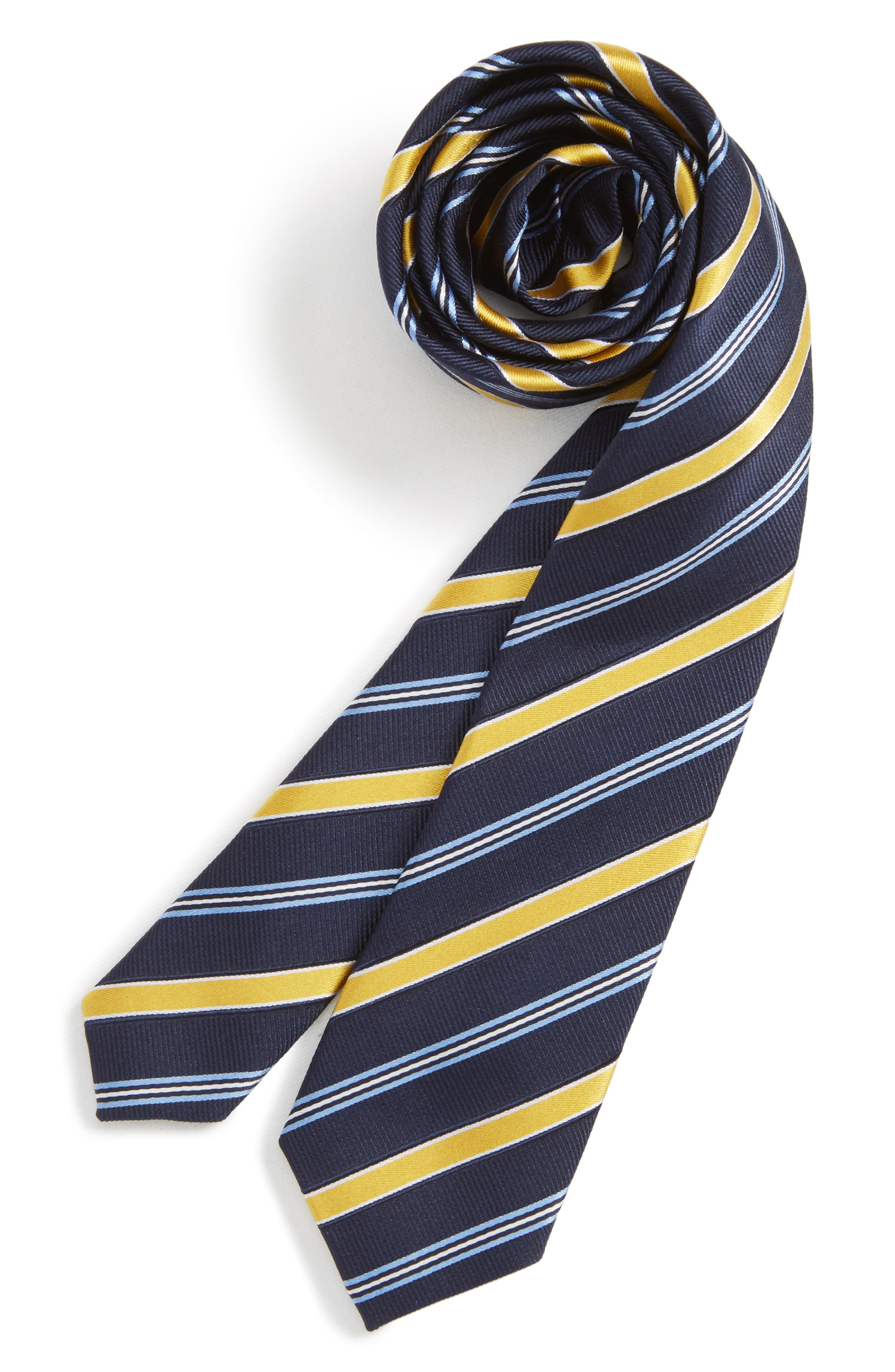 Nordstrom Stripe Silk Tie (Boys)
