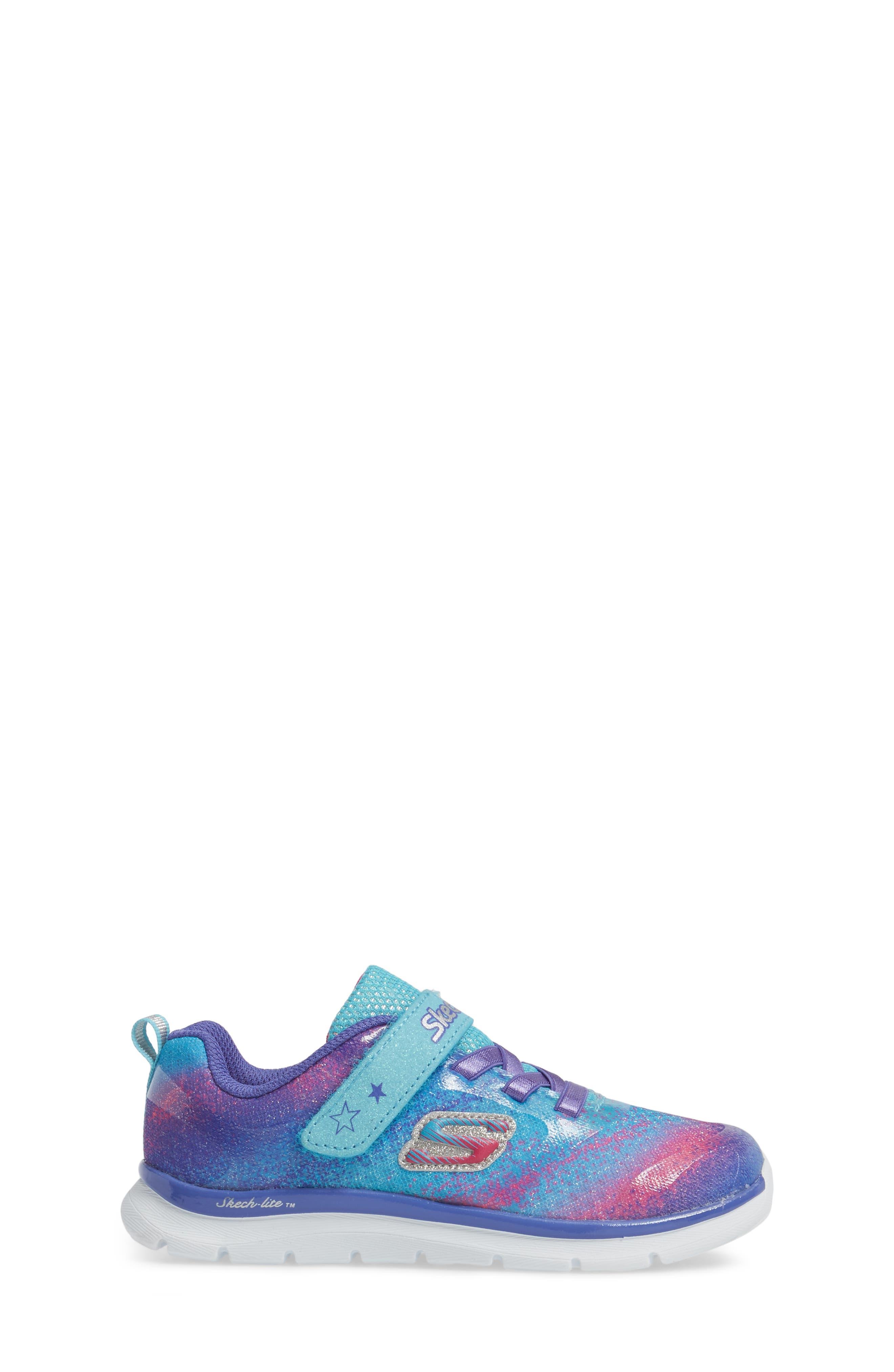 Alternate Image 3  - SKECHERS Skech-Lite Colorful Cutie Sneaker (Walker & Toddler)