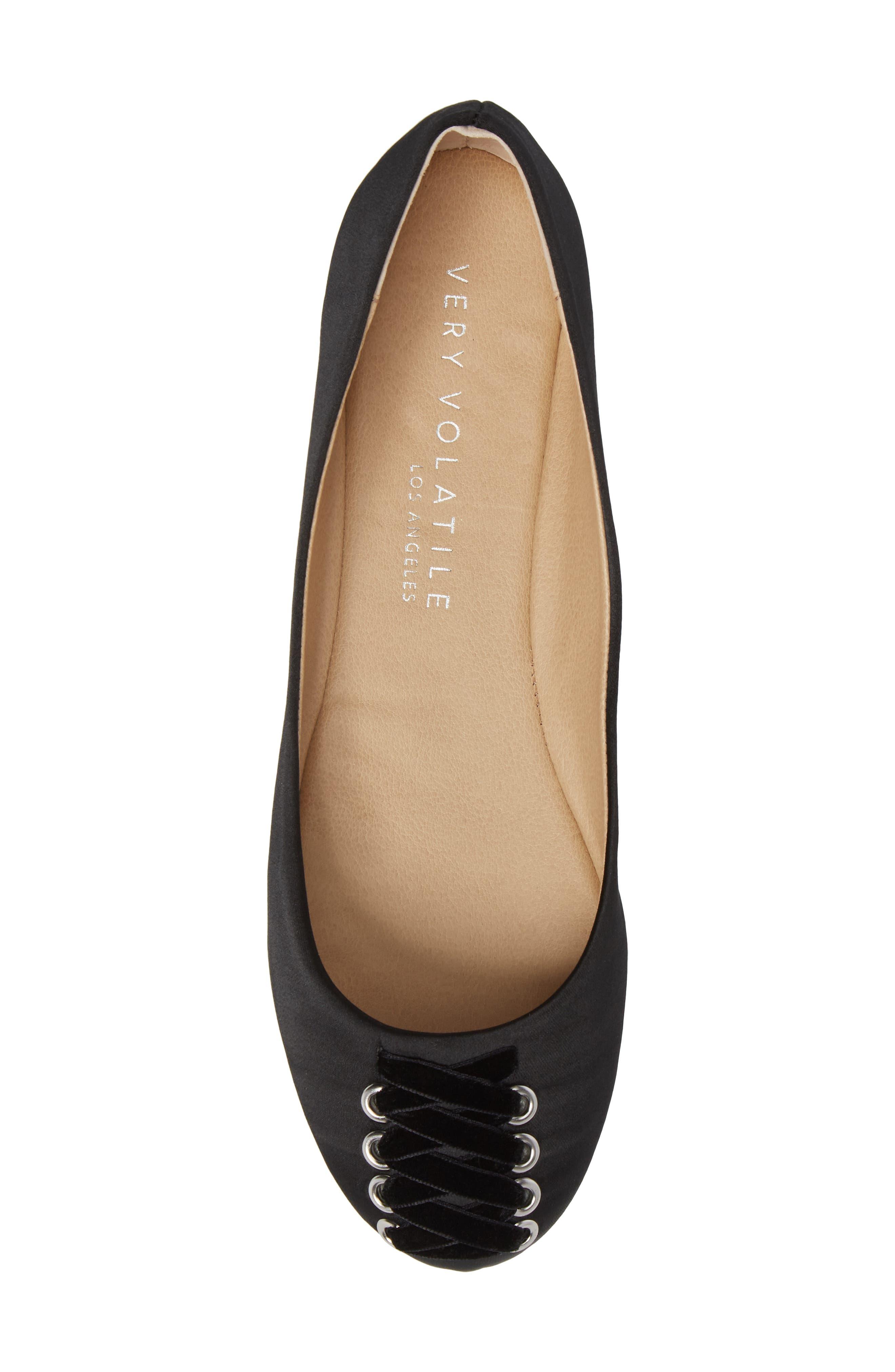 Alternate Image 5  - Very Volatile Devs Corset Flat (Women)