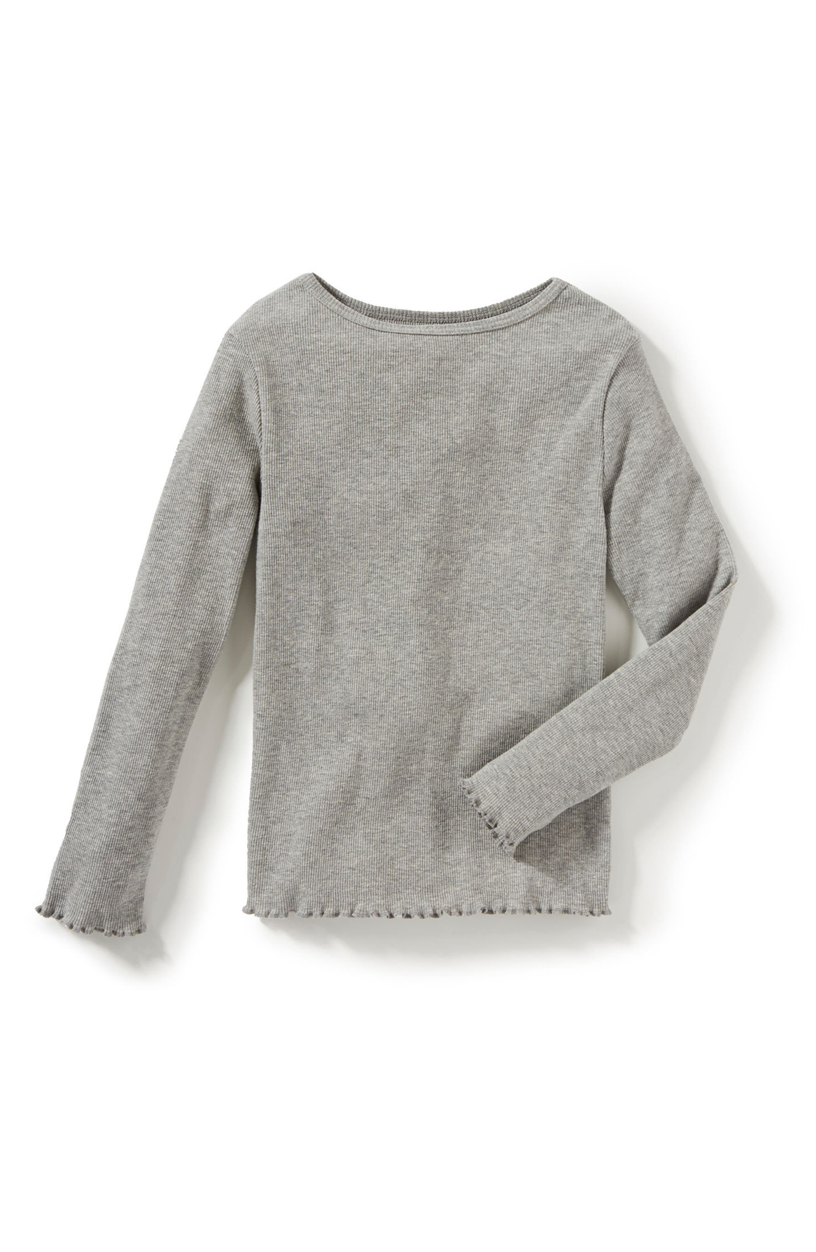 Peek Marie Long Sleeve Tee (Toddler Girls, Little Girls & Big Girls)