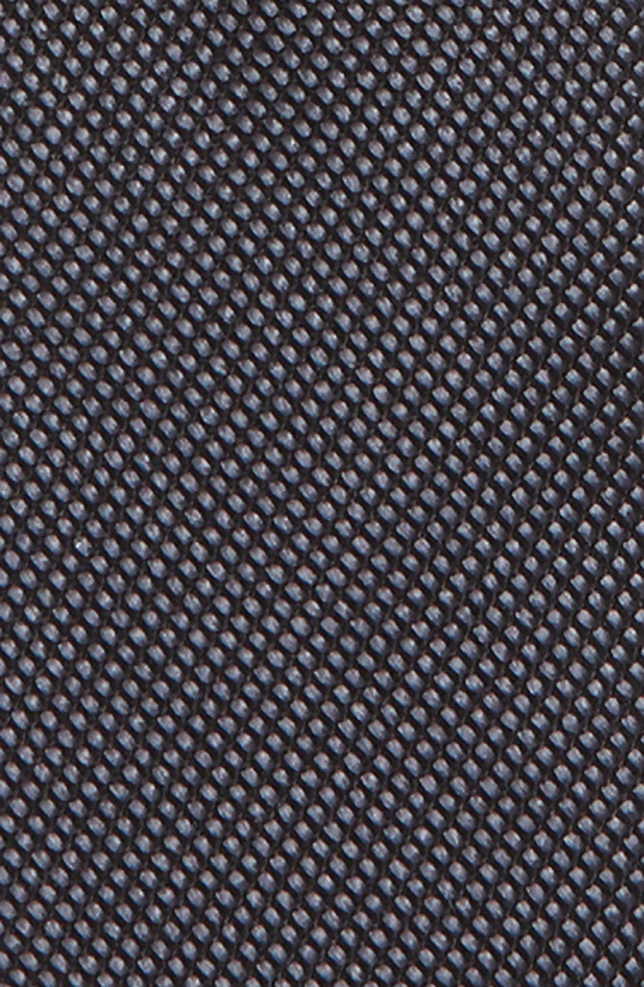 Alternate Image 2  - Nordstrom Solid Silk Zip Tie (Big Boys)