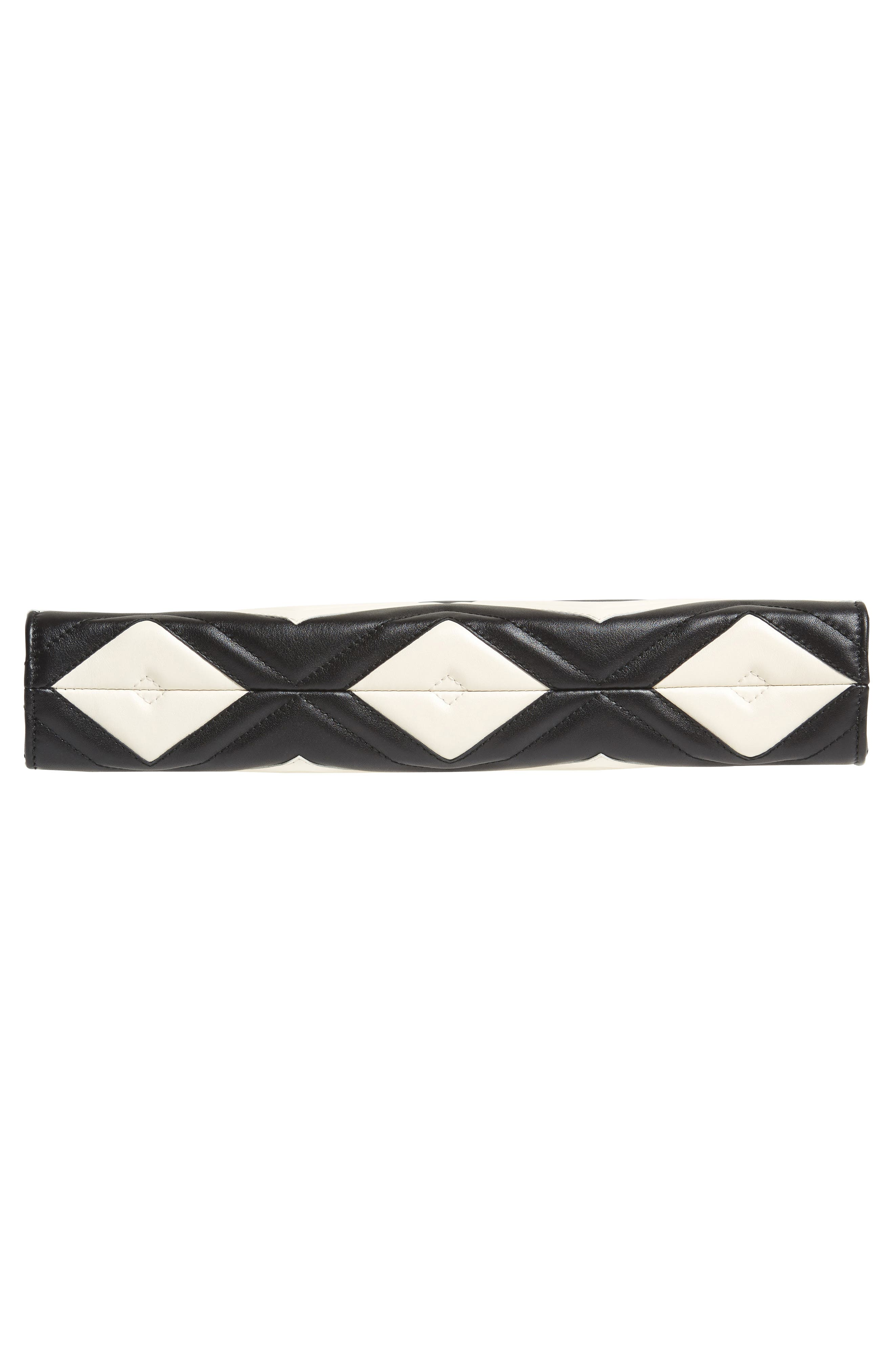 Alternate Image 5  - Gucci GG Marmont Matelassé Leather Clutch