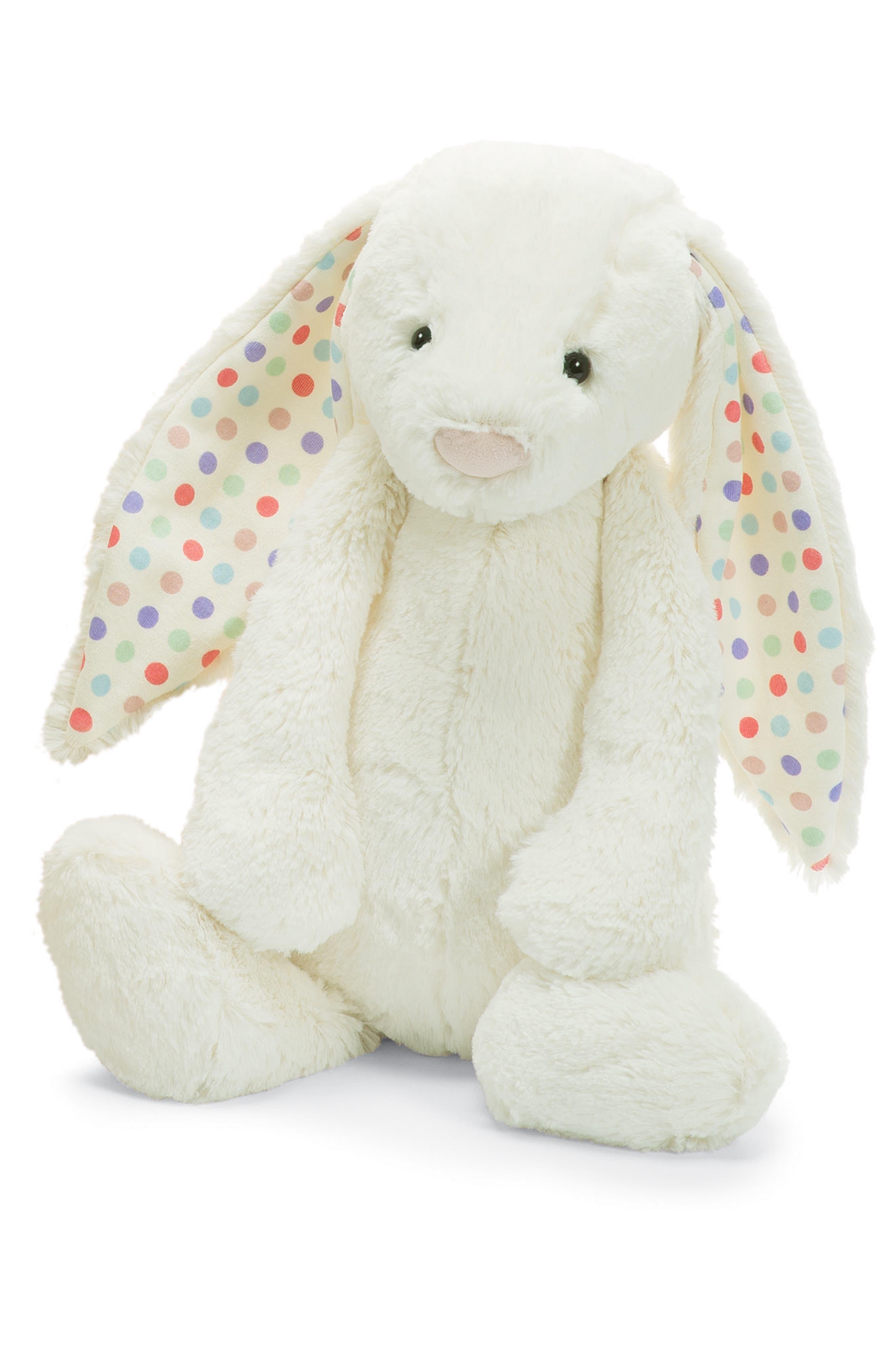 'Huge Bashful Bunny' Stuffed Animal,                         Main,                         color, Ivory