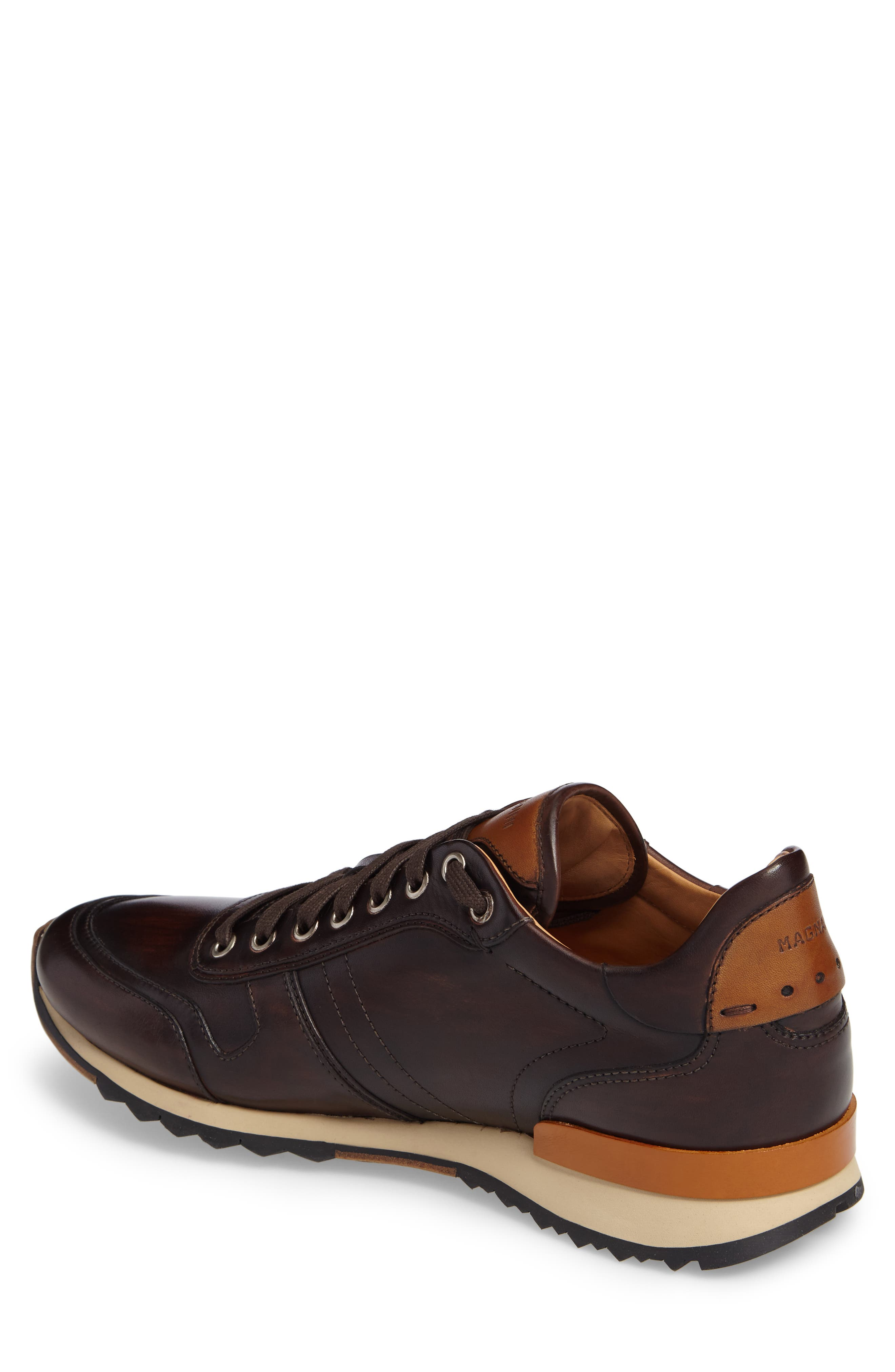 Galio Sneaker,                             Alternate thumbnail 2, color,                             Brown Leather