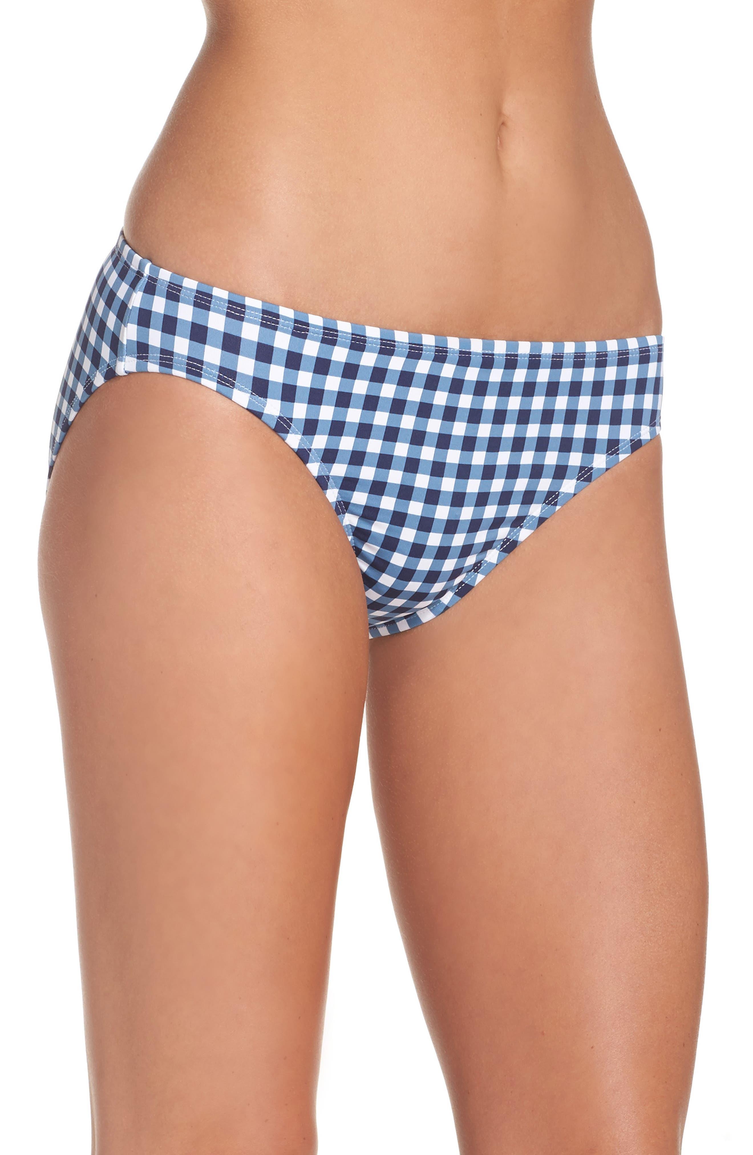 Alternate Image 3  - Tommy Bahama Gingham Bikini Bottoms