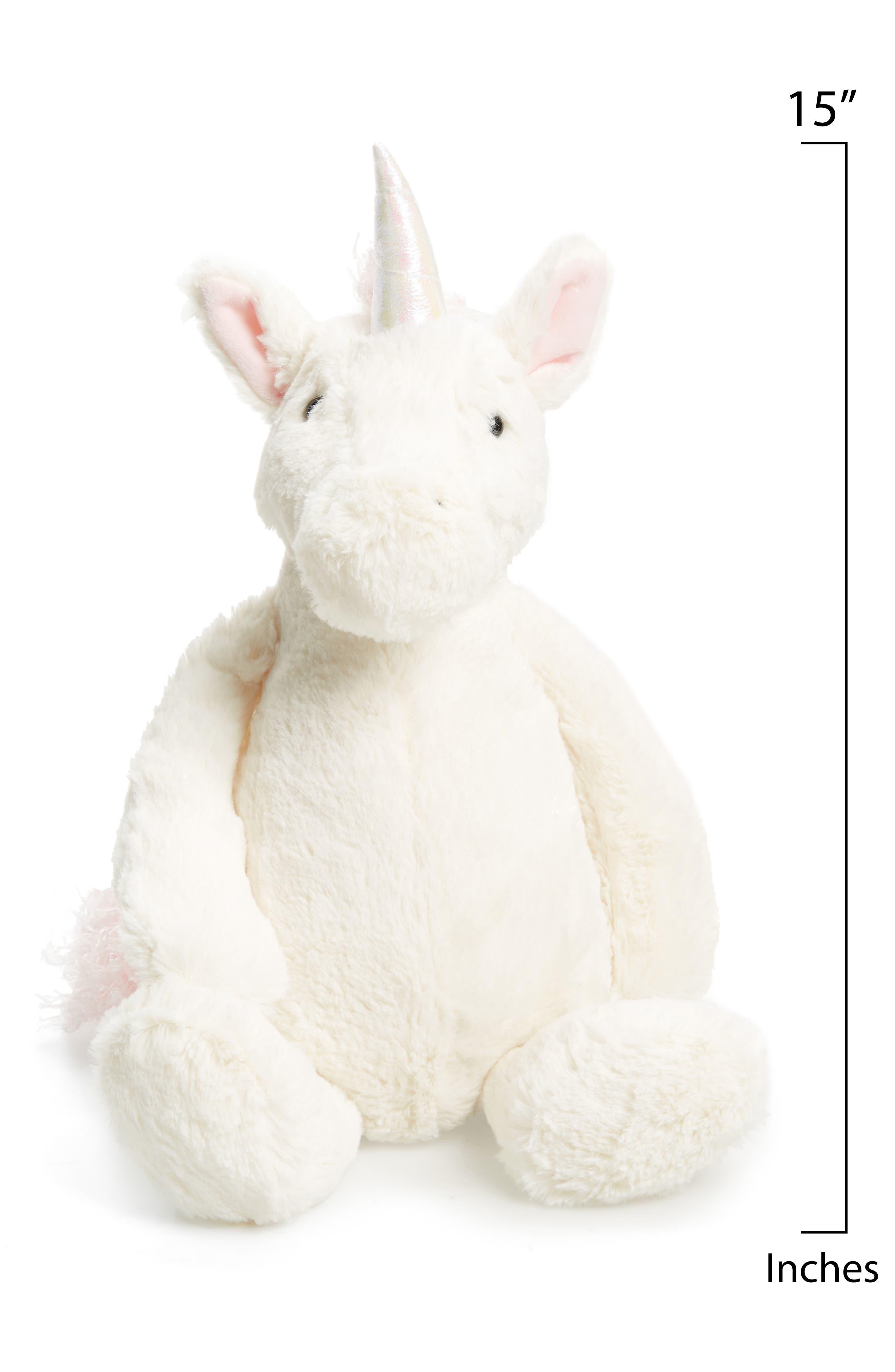Large Bashful Unicorn,                             Alternate thumbnail 2, color,                             White