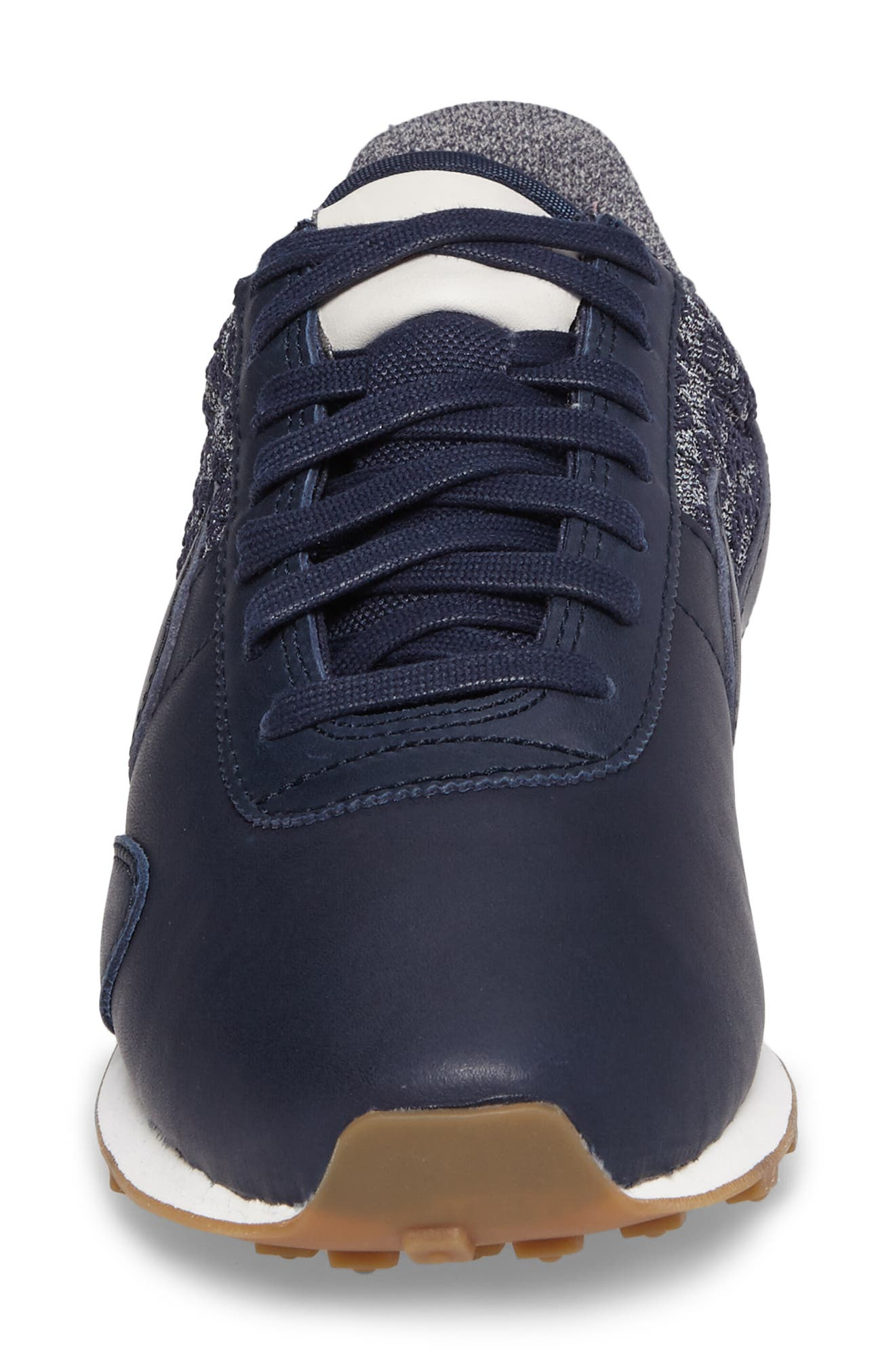 Pre Montreal Racer Vintage Sneaker,                             Alternate thumbnail 4, color,                             Obsidian/ Sail/ Gum Brown
