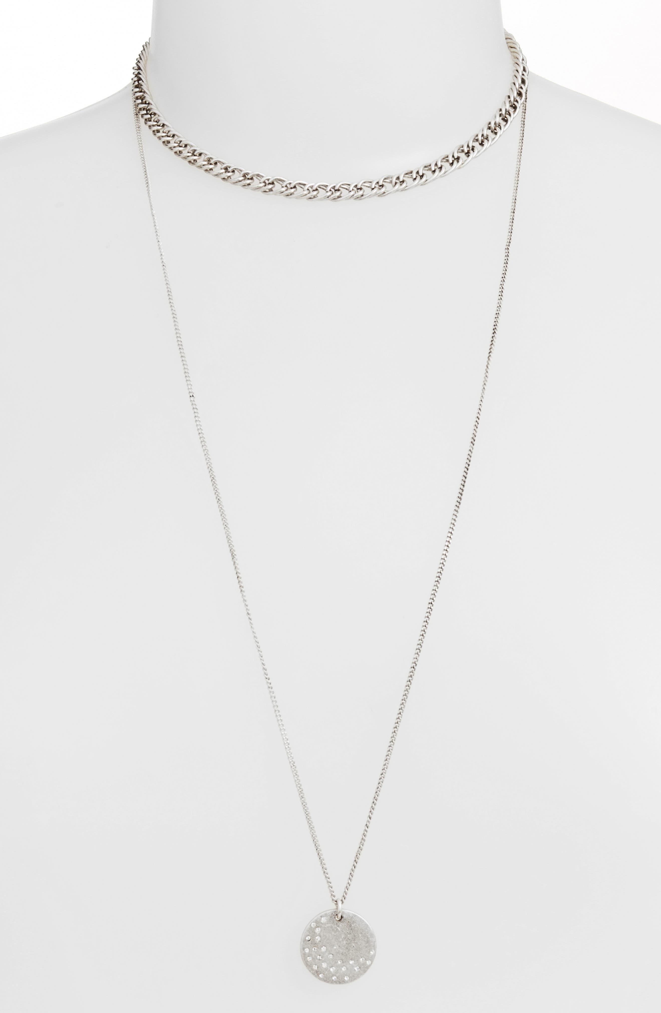 Alternate Image 2  - Treasure & Bond x Something Navy Multistrand Necklace
