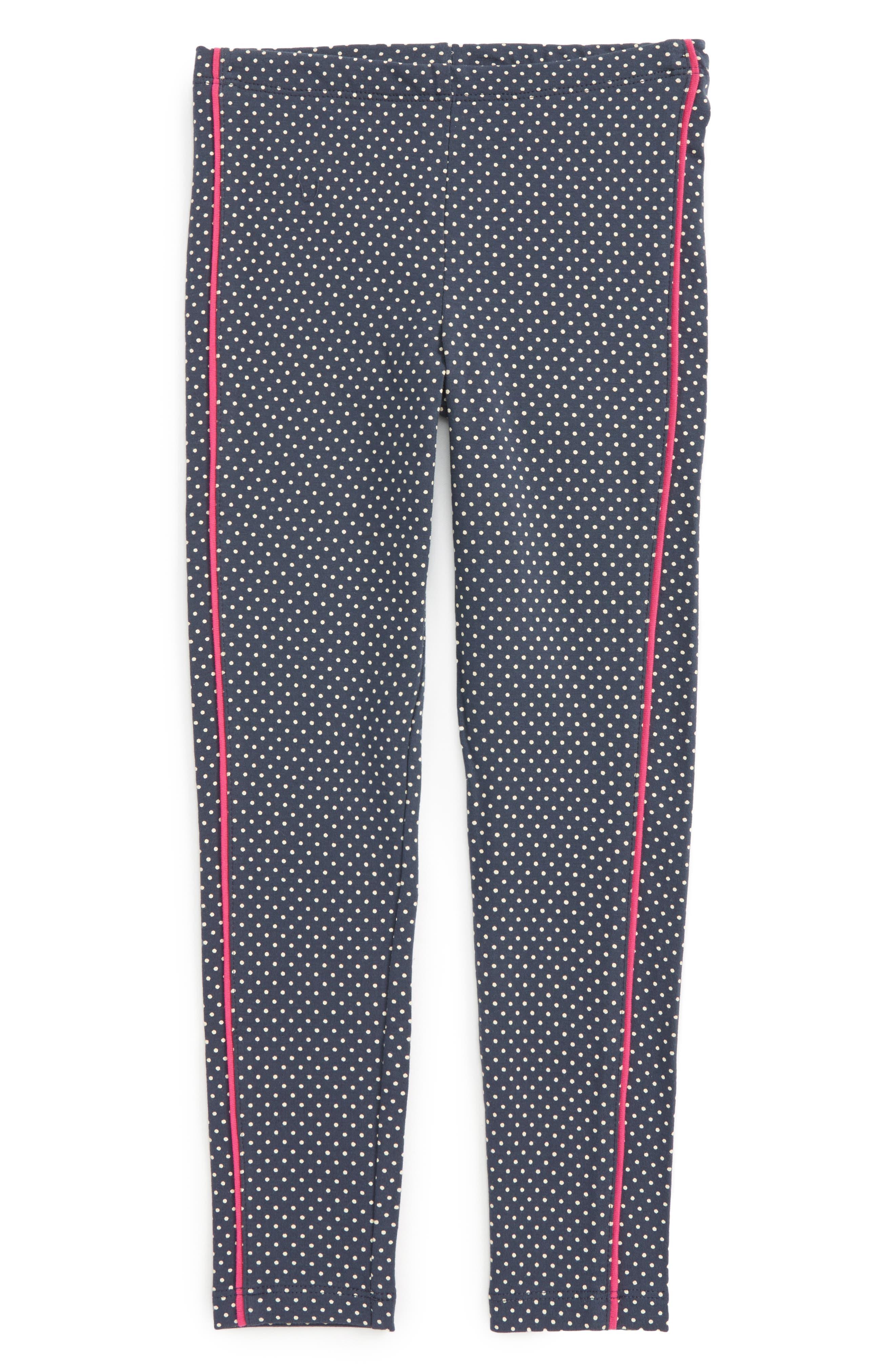 Tea Collection Stripe-n-Dot Leggings (Toddler Girls, Little Girls & Big Girls)