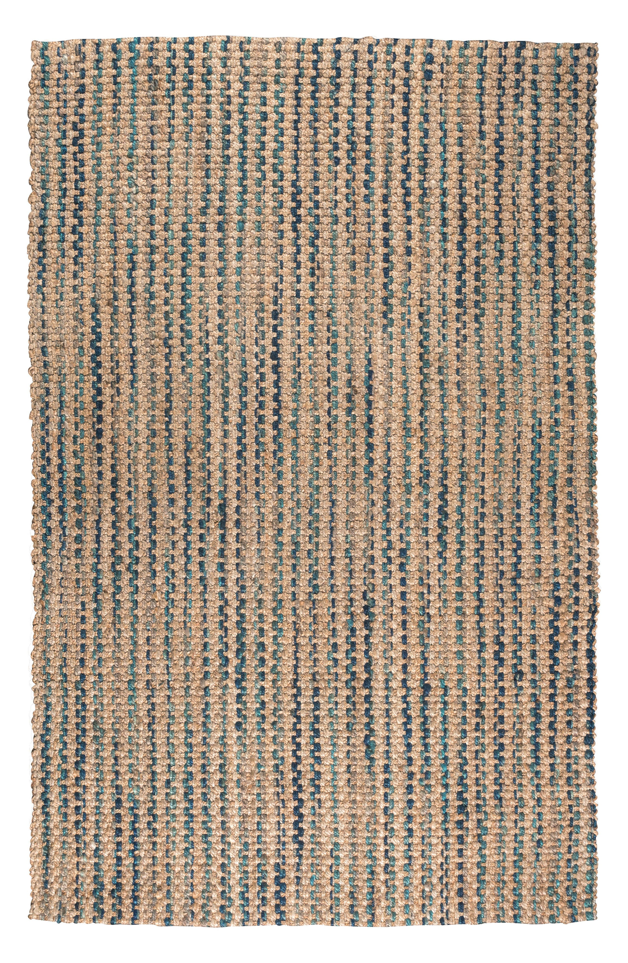 Ladera Handwoven Rug,                             Main thumbnail 1, color,                             Navy/ Turquoise