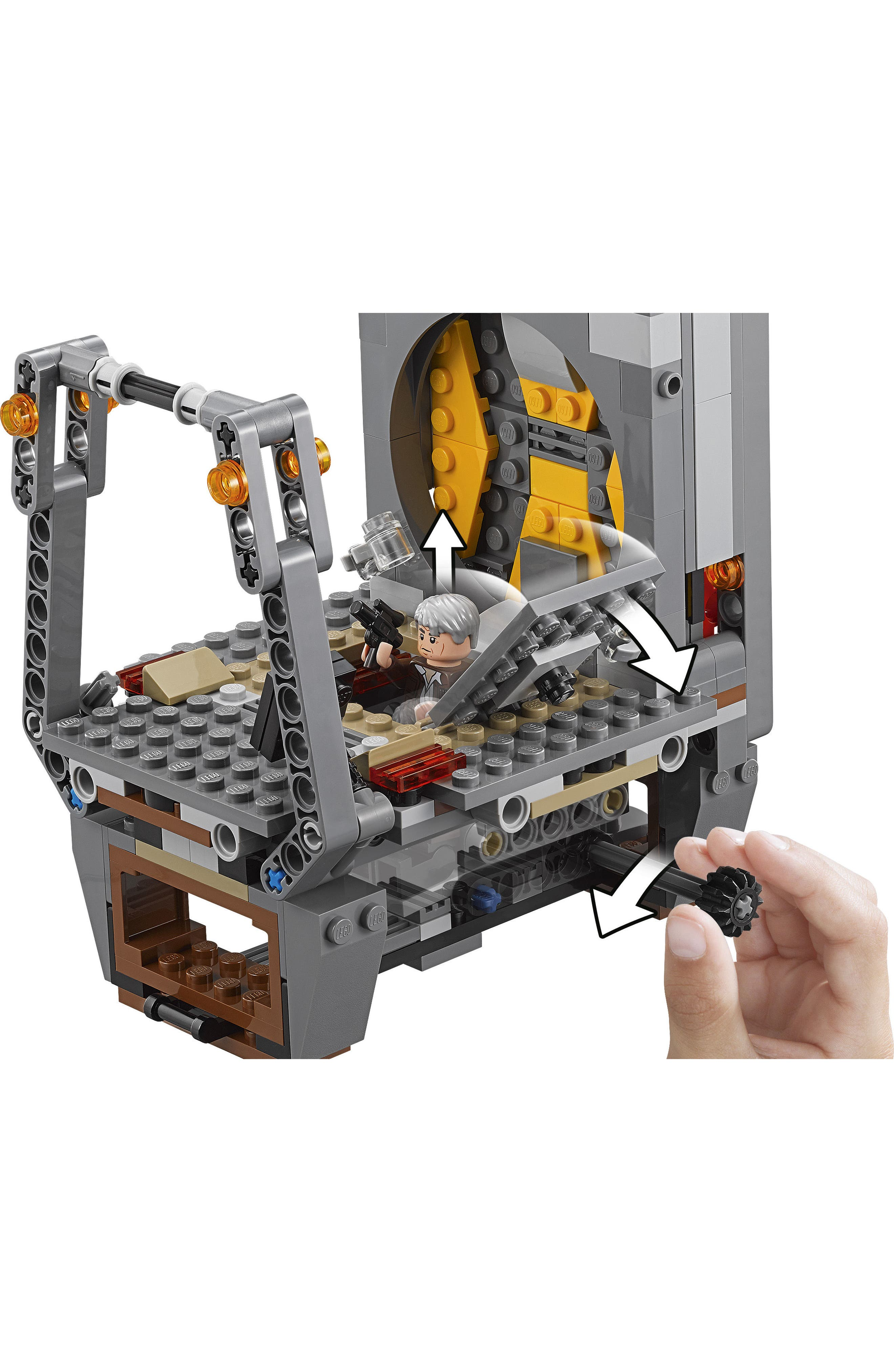 Star Wars<sup>™</sup>: The Force Awakens Rathtar<sup>™</sup> Escape Play Set - 75180,                             Alternate thumbnail 2, color,                             Multi