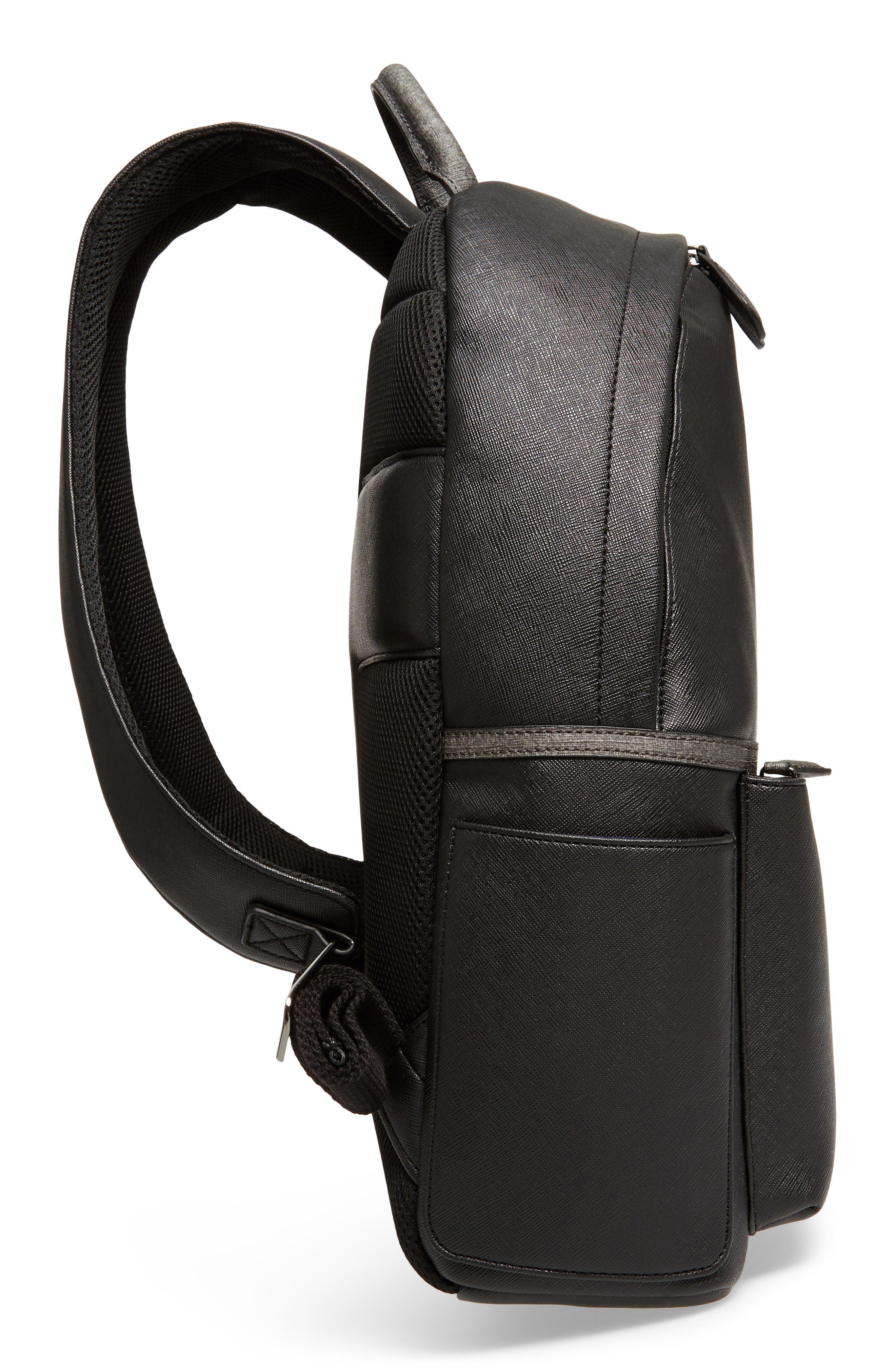 Fangs Backpack,                             Alternate thumbnail 5, color,                             Black