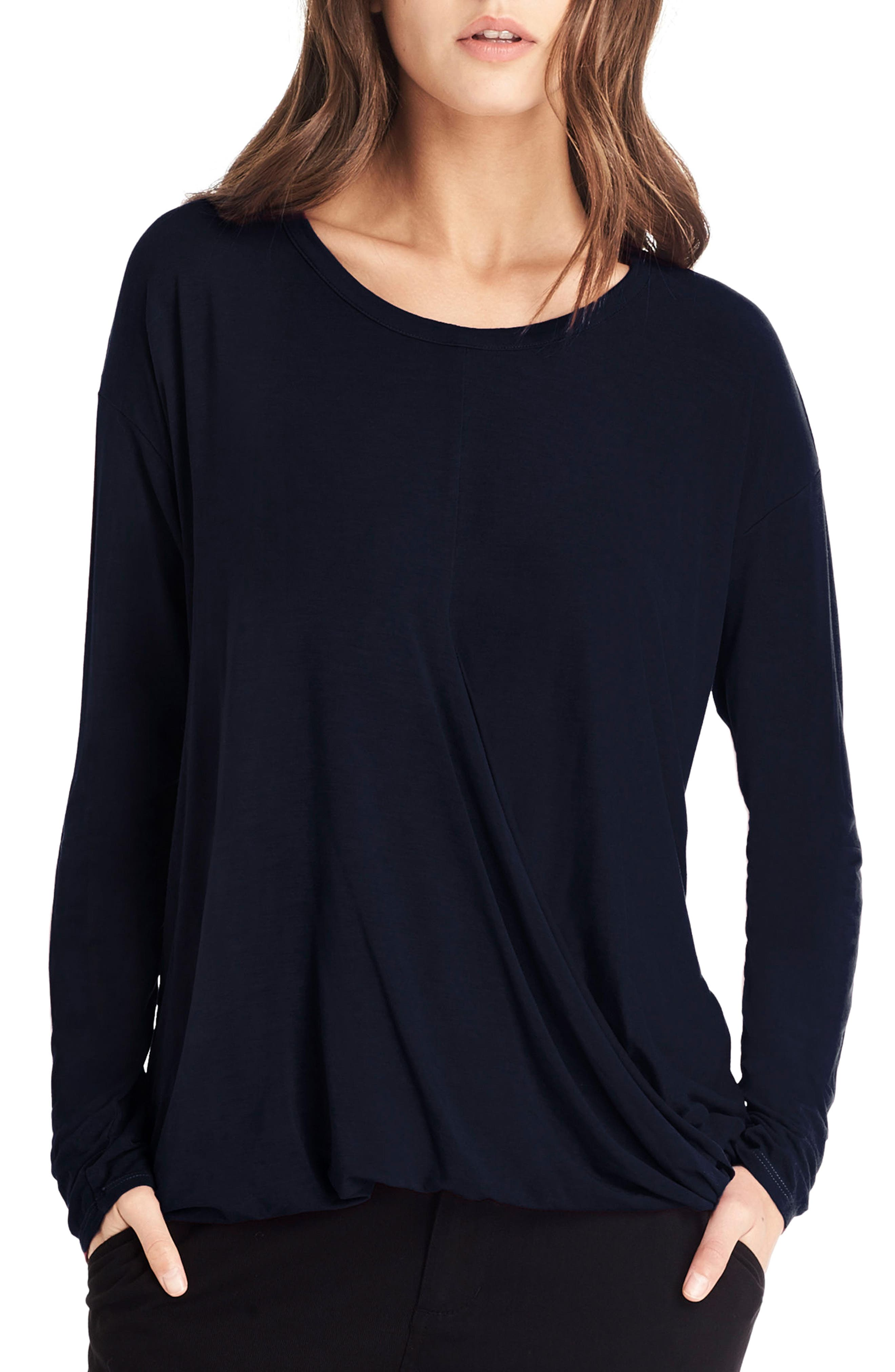 Main Image - Michael Stars Faux Wrap Top