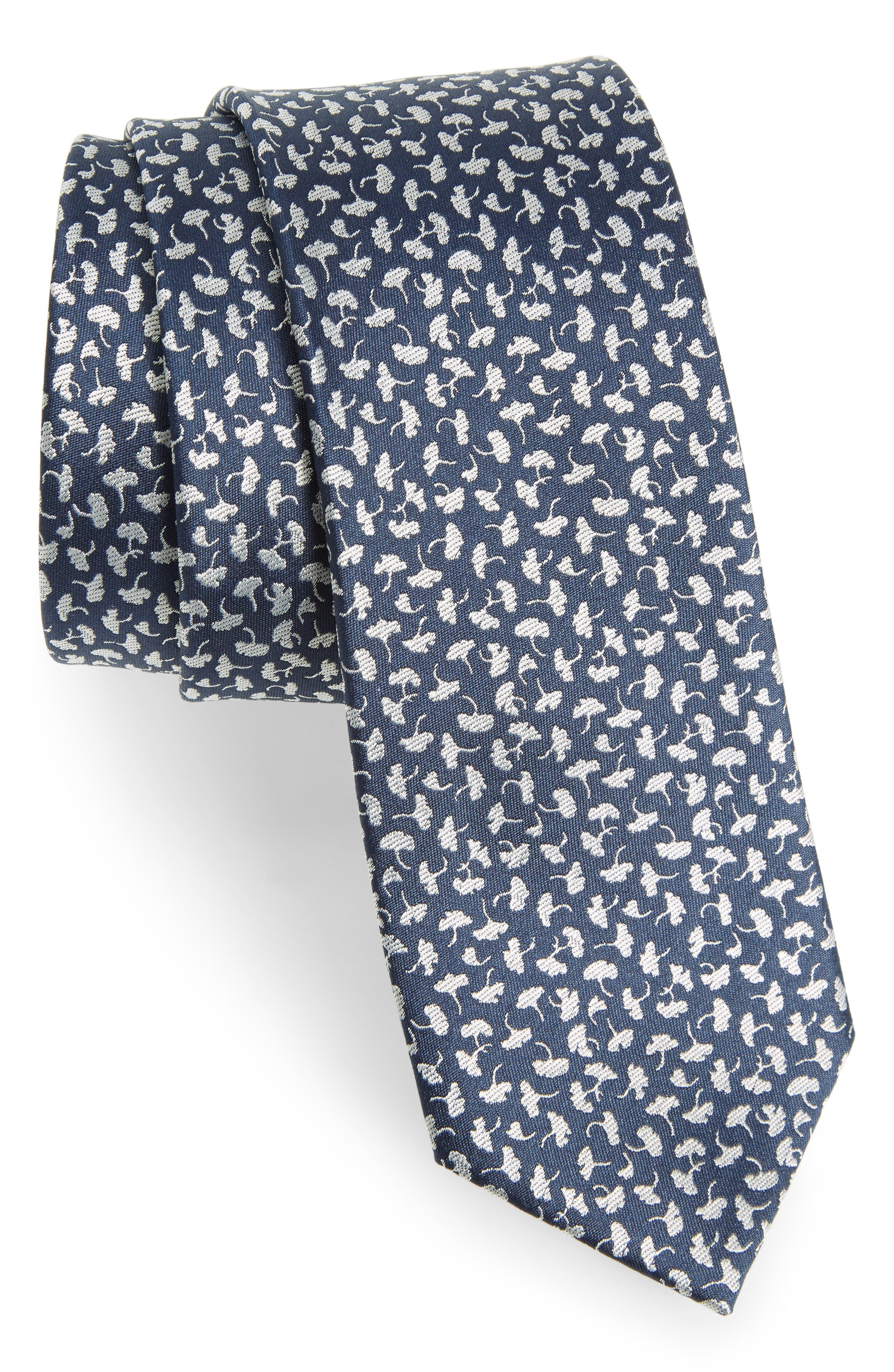 THE TIE BAR True Floral Silk Tie