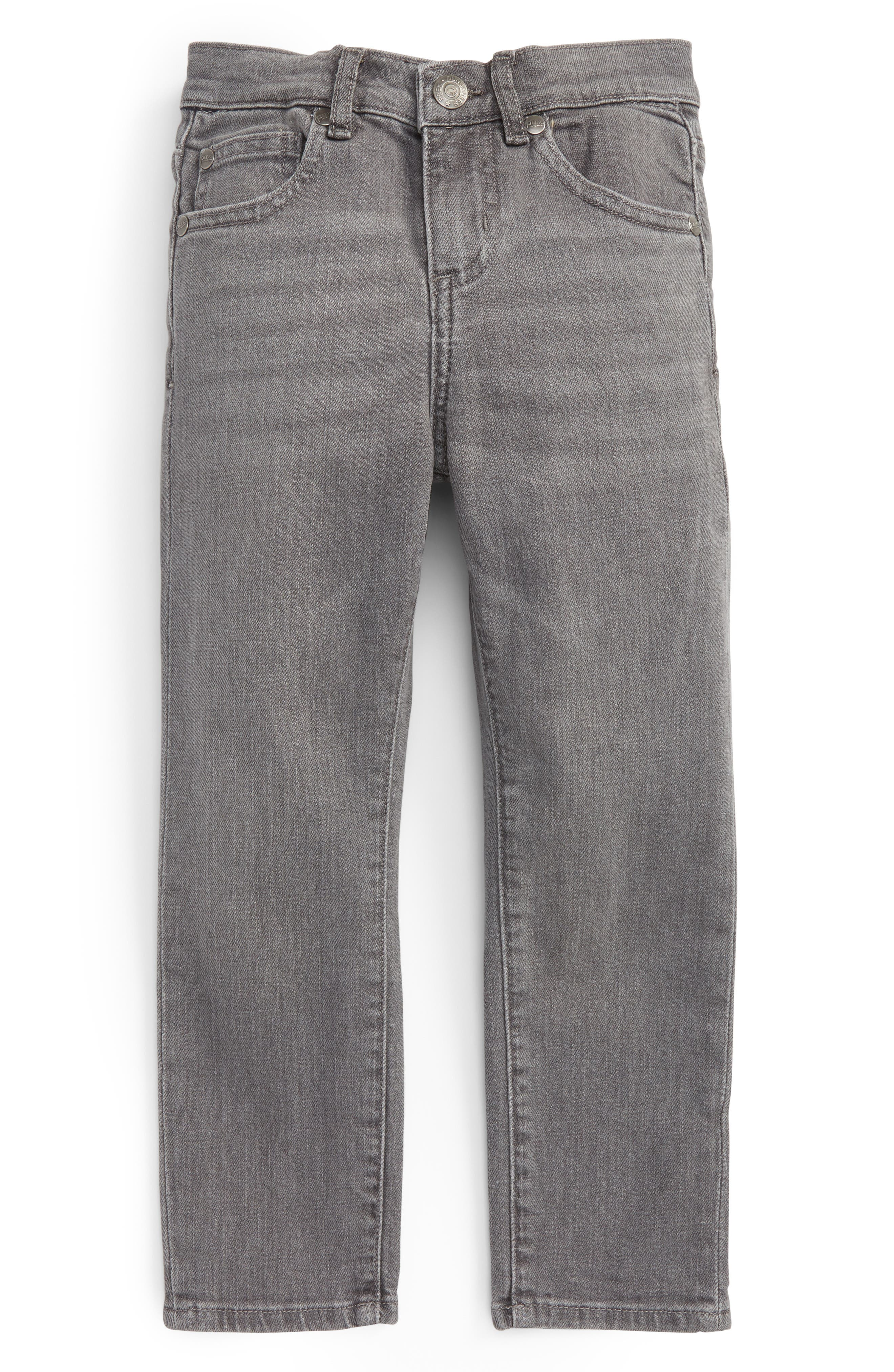 Slouch Jeans,                         Main,                         color, Grey