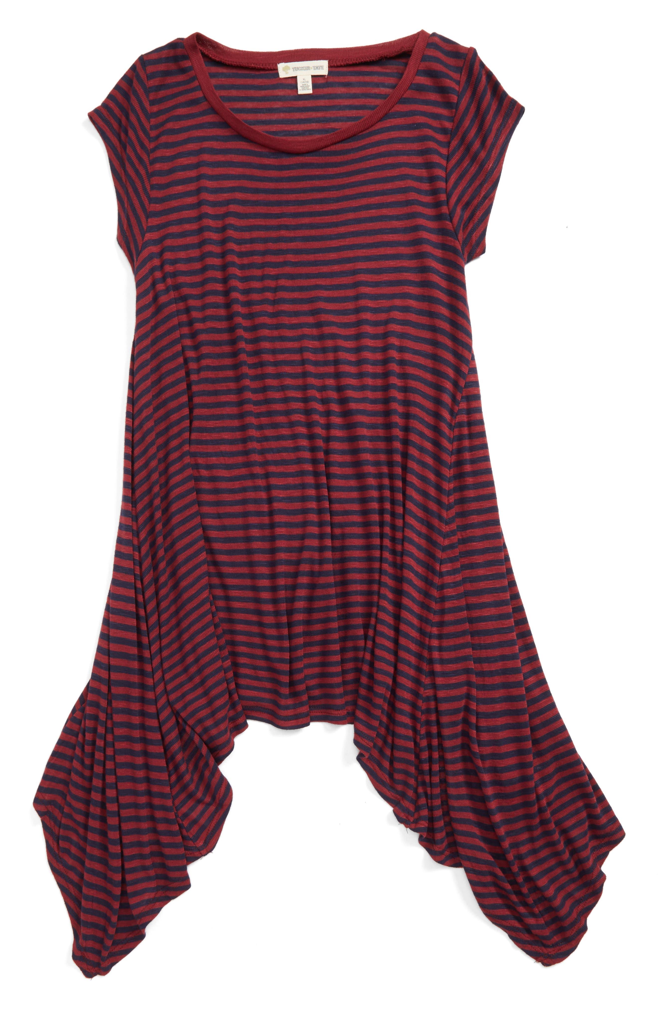 Alternate Image 1 Selected - Tucker + Tate Stripe Tee (Big Girls)