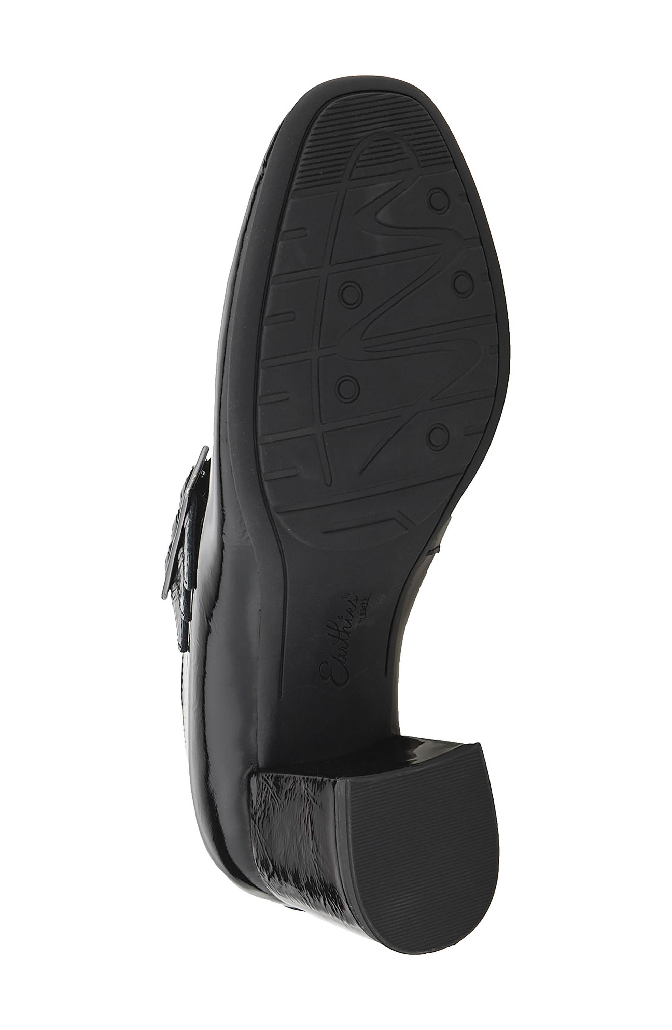 Fortuna Mary Jane Pump,                             Alternate thumbnail 6, color,                             Black Patent Leather