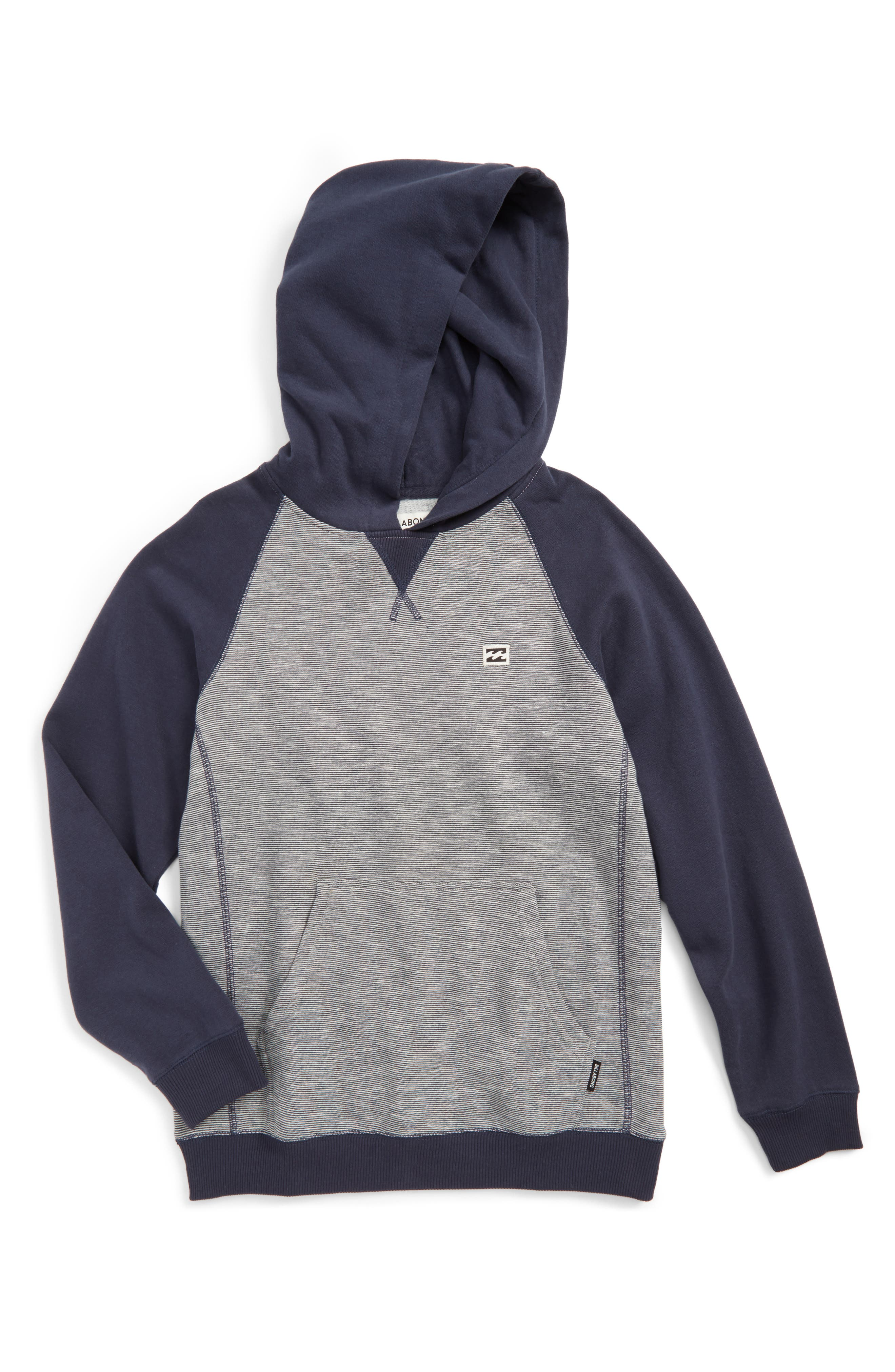 Balance Pullover Hoodie,                         Main,                         color, Navy Heather