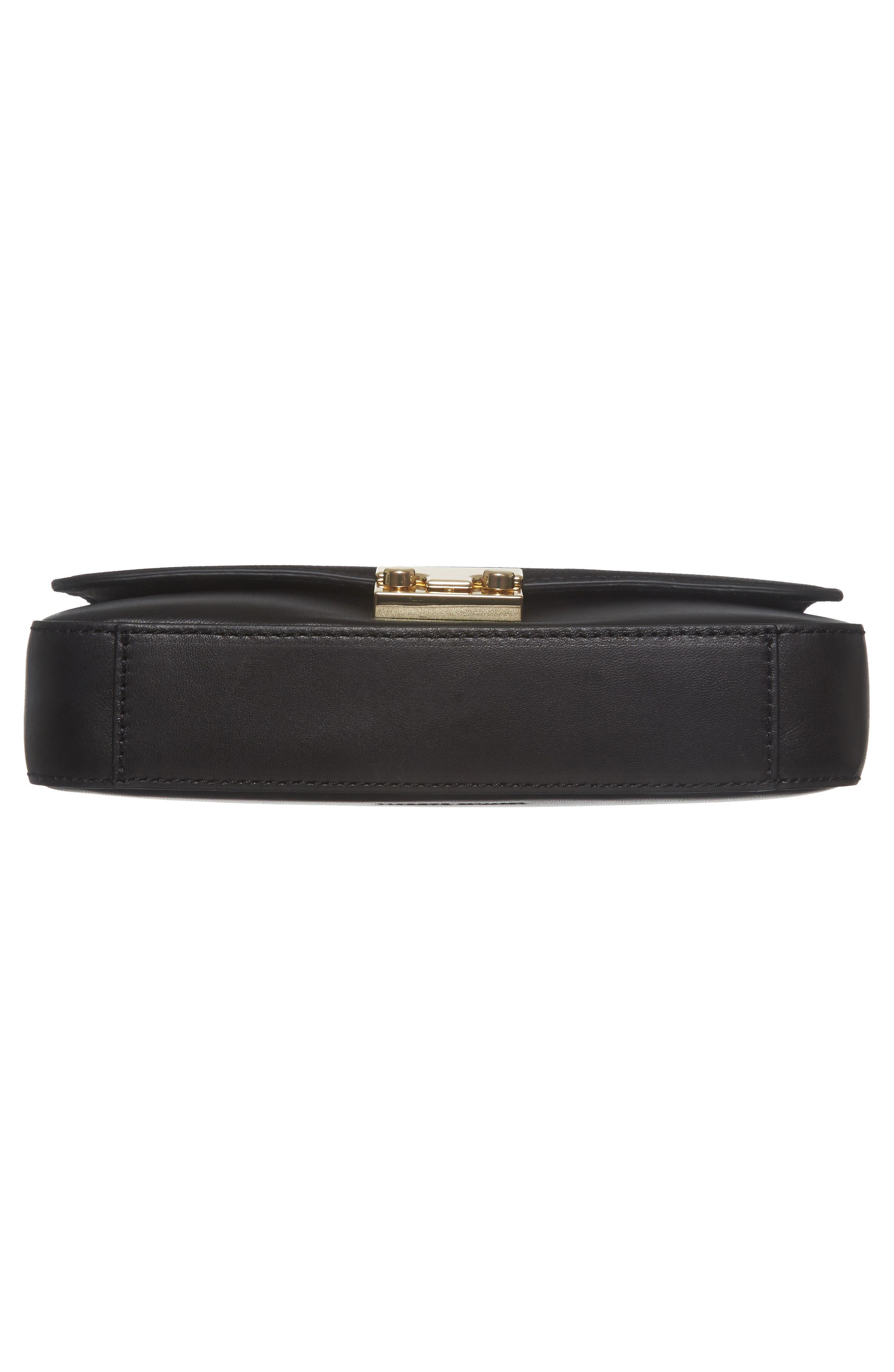 Lock Shoulder Bag,                             Alternate thumbnail 6, color,                             Black