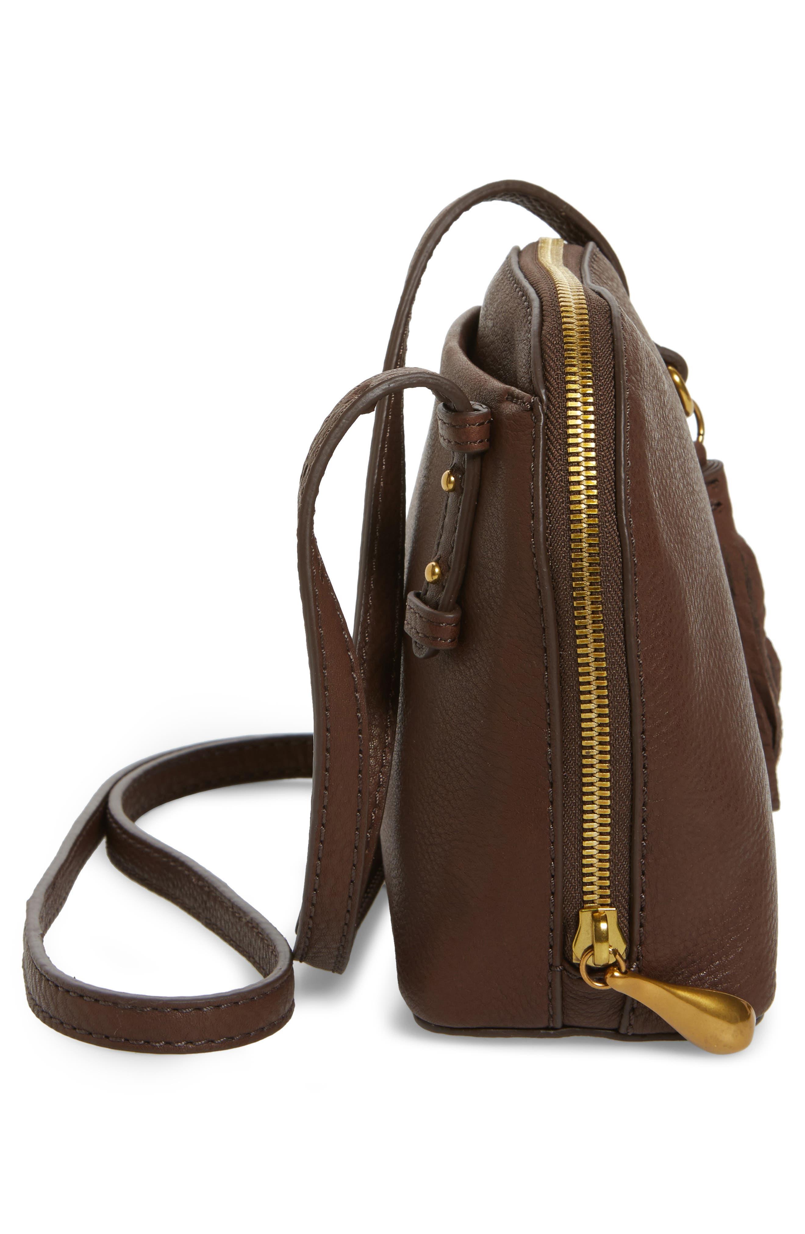 Alternate Image 4  - Hobo Nash Calfskin Leather Crossbody Bag