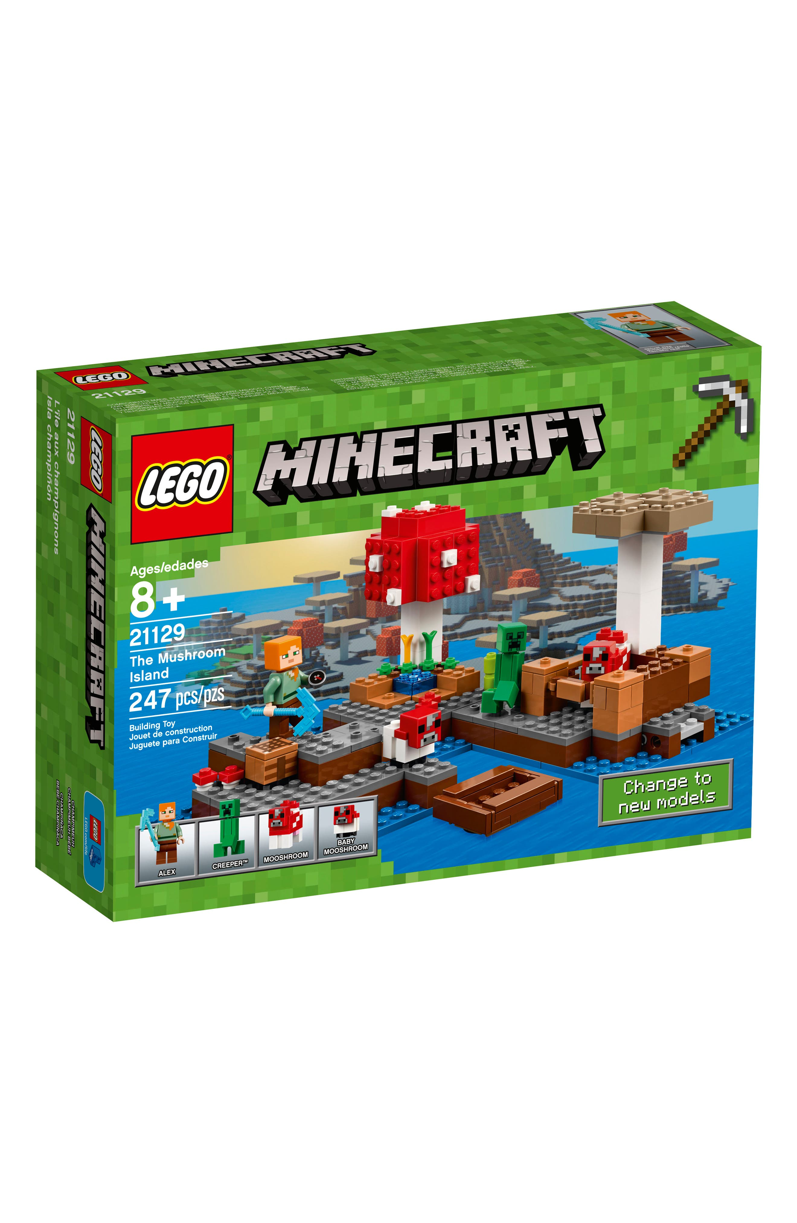 LEGO® Minecraft™ The Mushroom Island Play Set - 21129