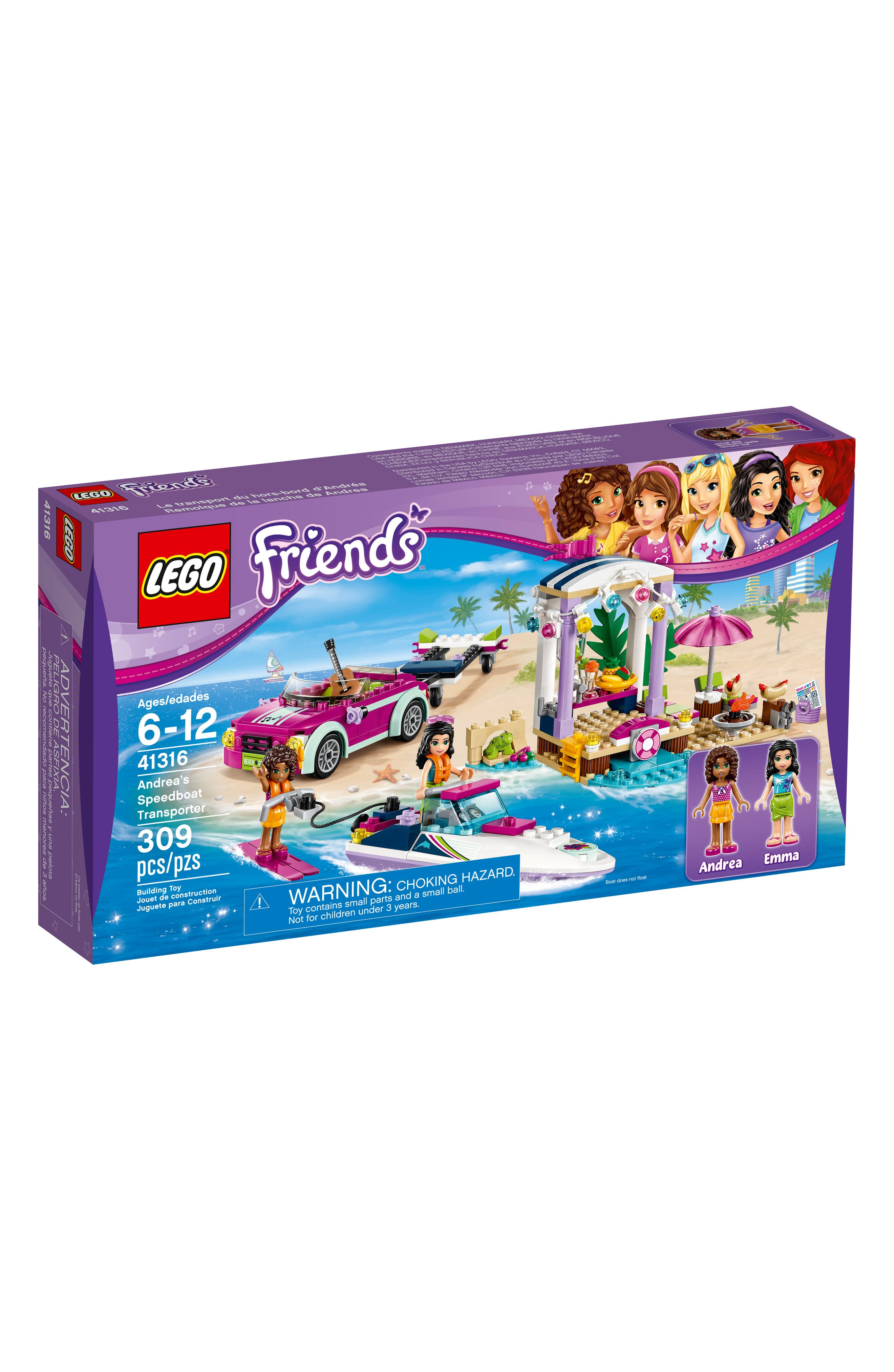 LEGO® Friends Andrea's Speedboat Transporter - 41316