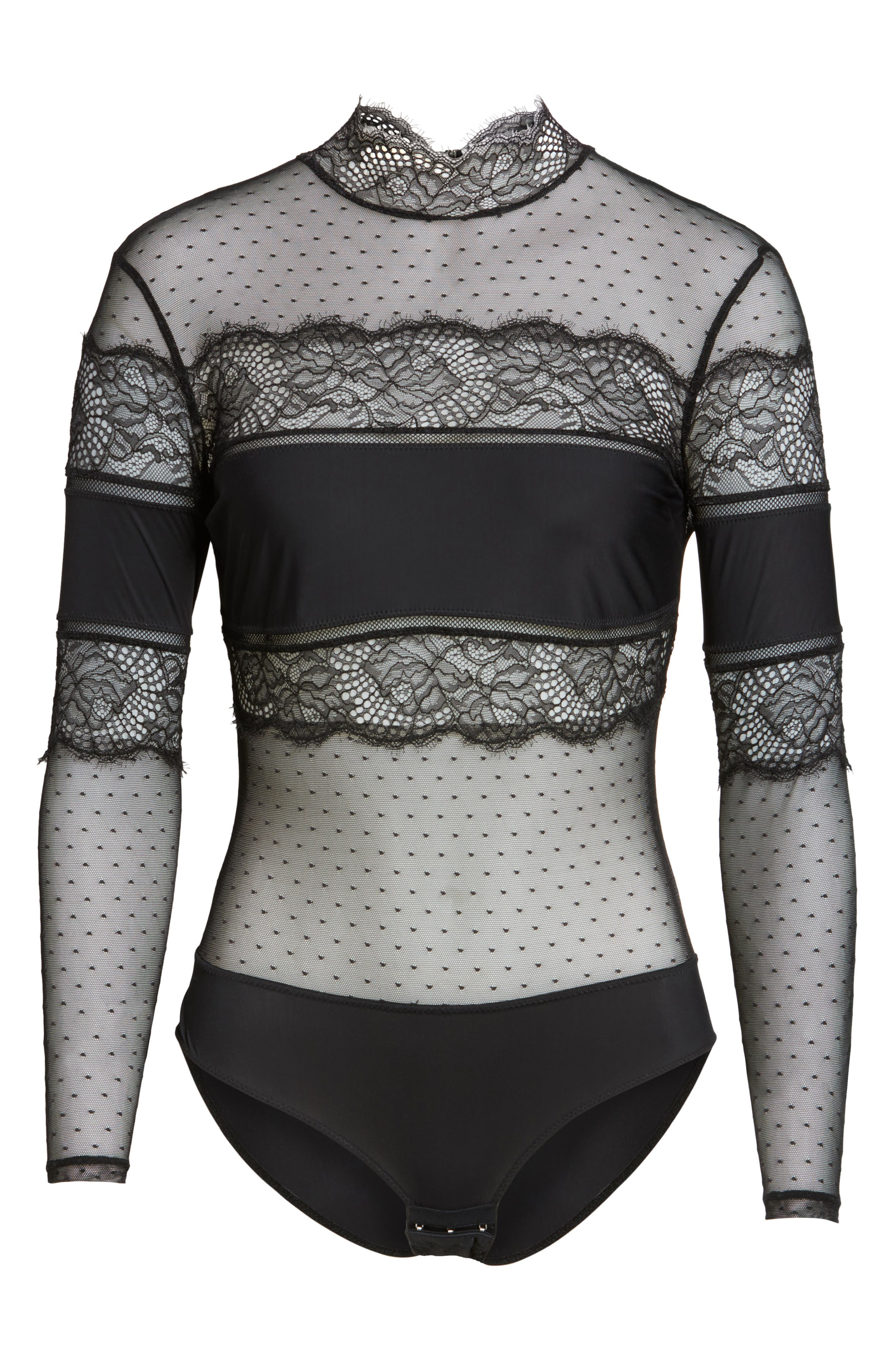 Alternate Image 4  - Thistle & Spire Amore Long Sleeve Bodysuit