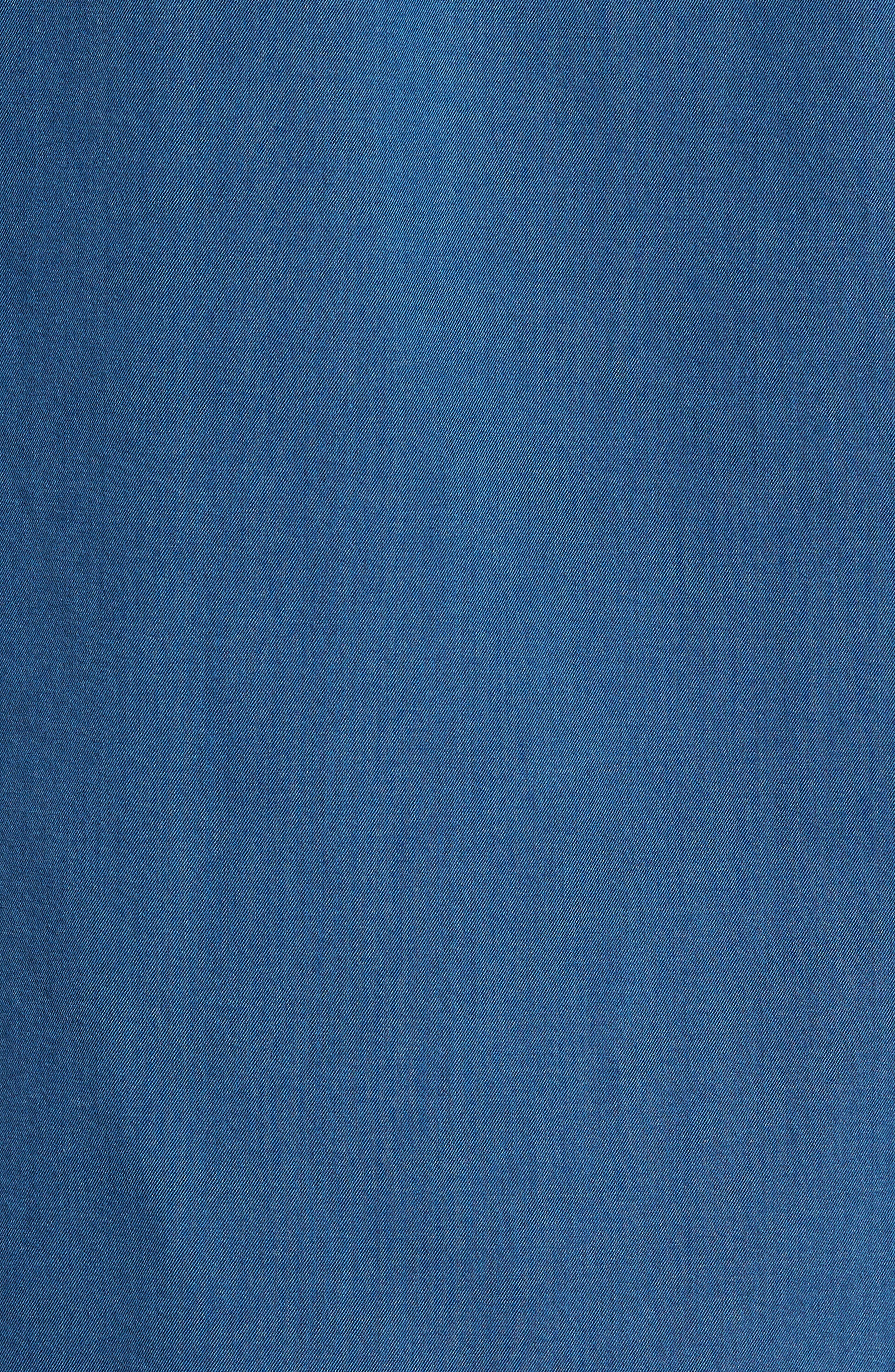 Bayswater Sports Fit Sport Shirt,                             Alternate thumbnail 5, color,                             Indigo