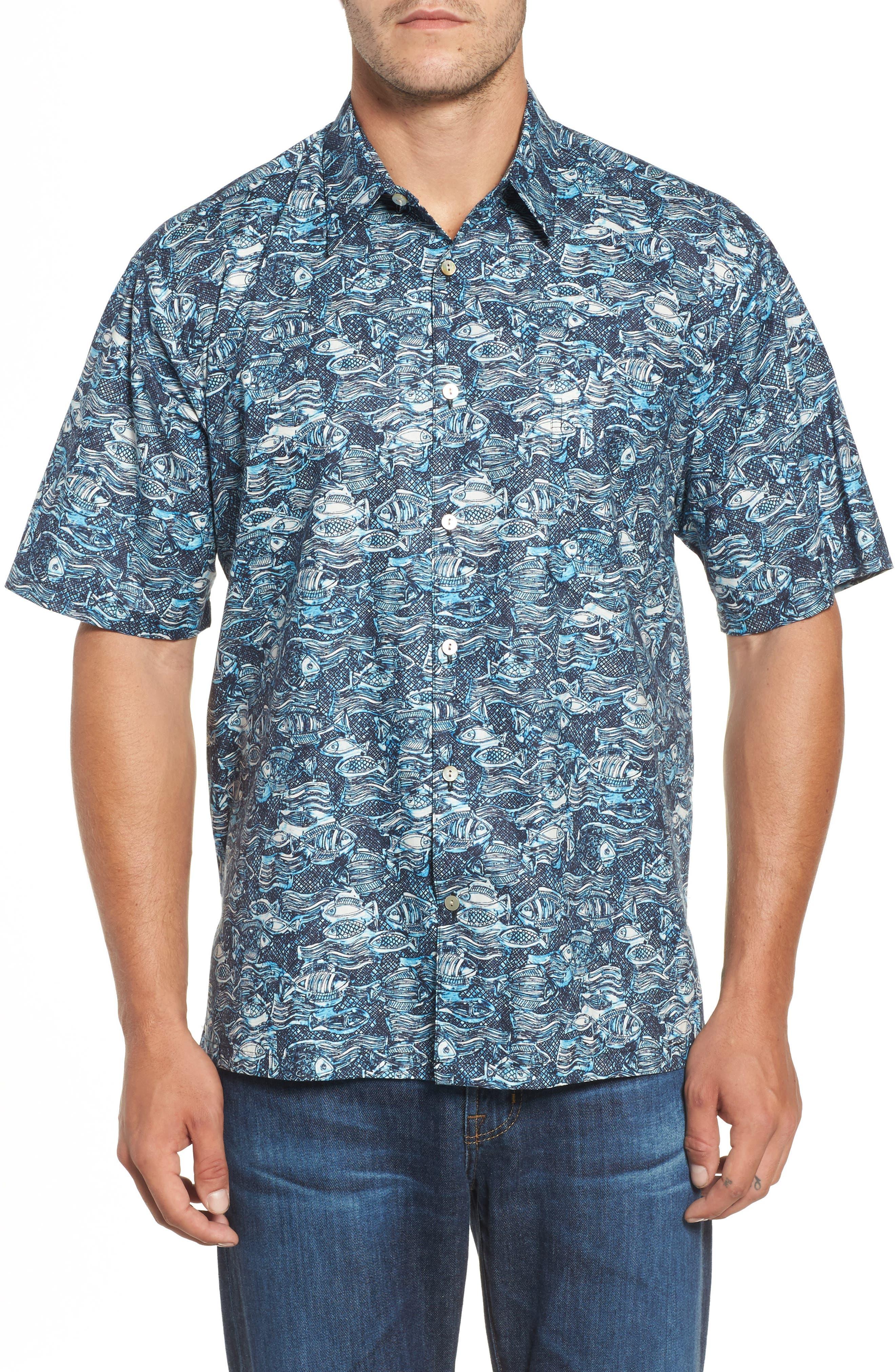 Tori Richard Pike Place Classic Fit Camp Shirt