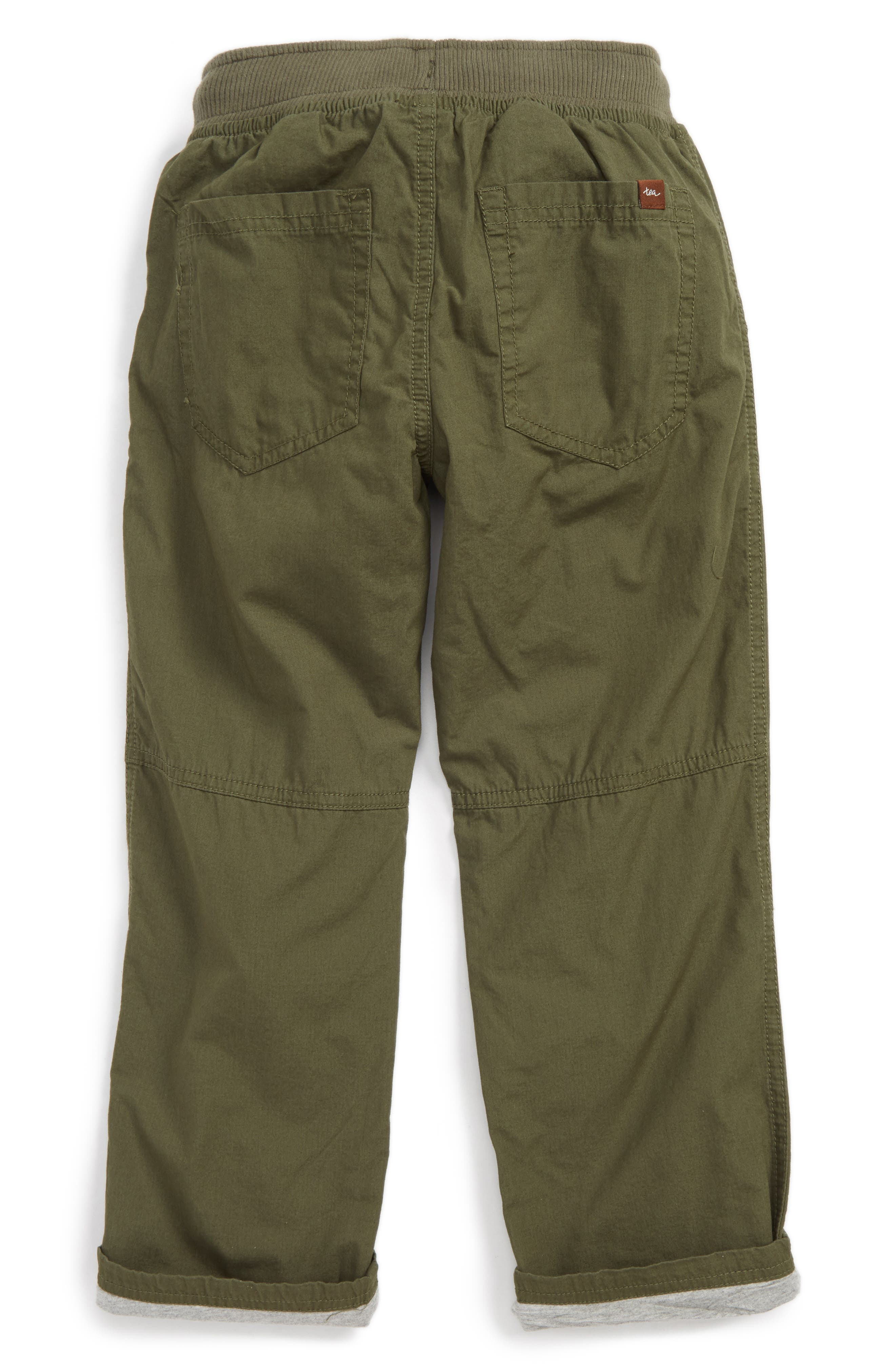 Jersey Lined Pants,                             Alternate thumbnail 3, color,                             Tweed