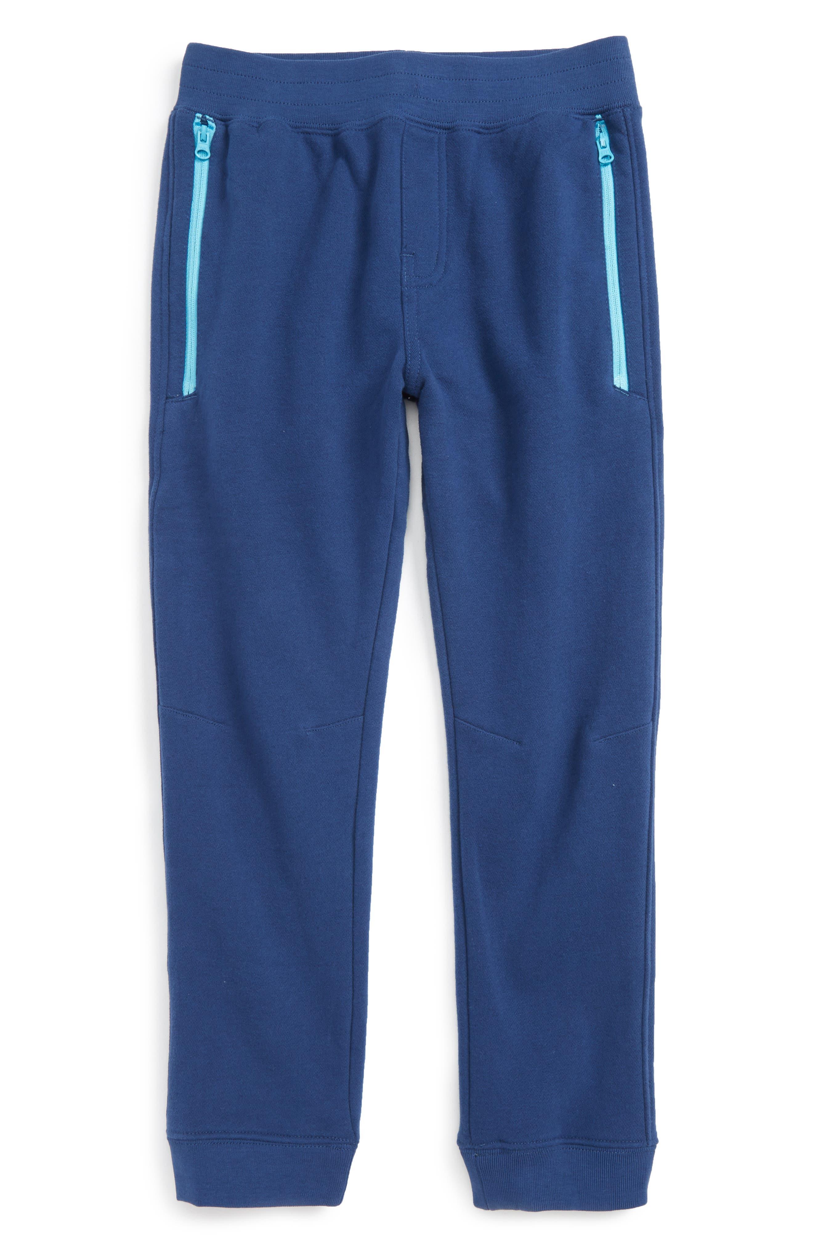 Tea Collection Zip Pocket Jogger Pants (Toddler Boys & Little Boys)