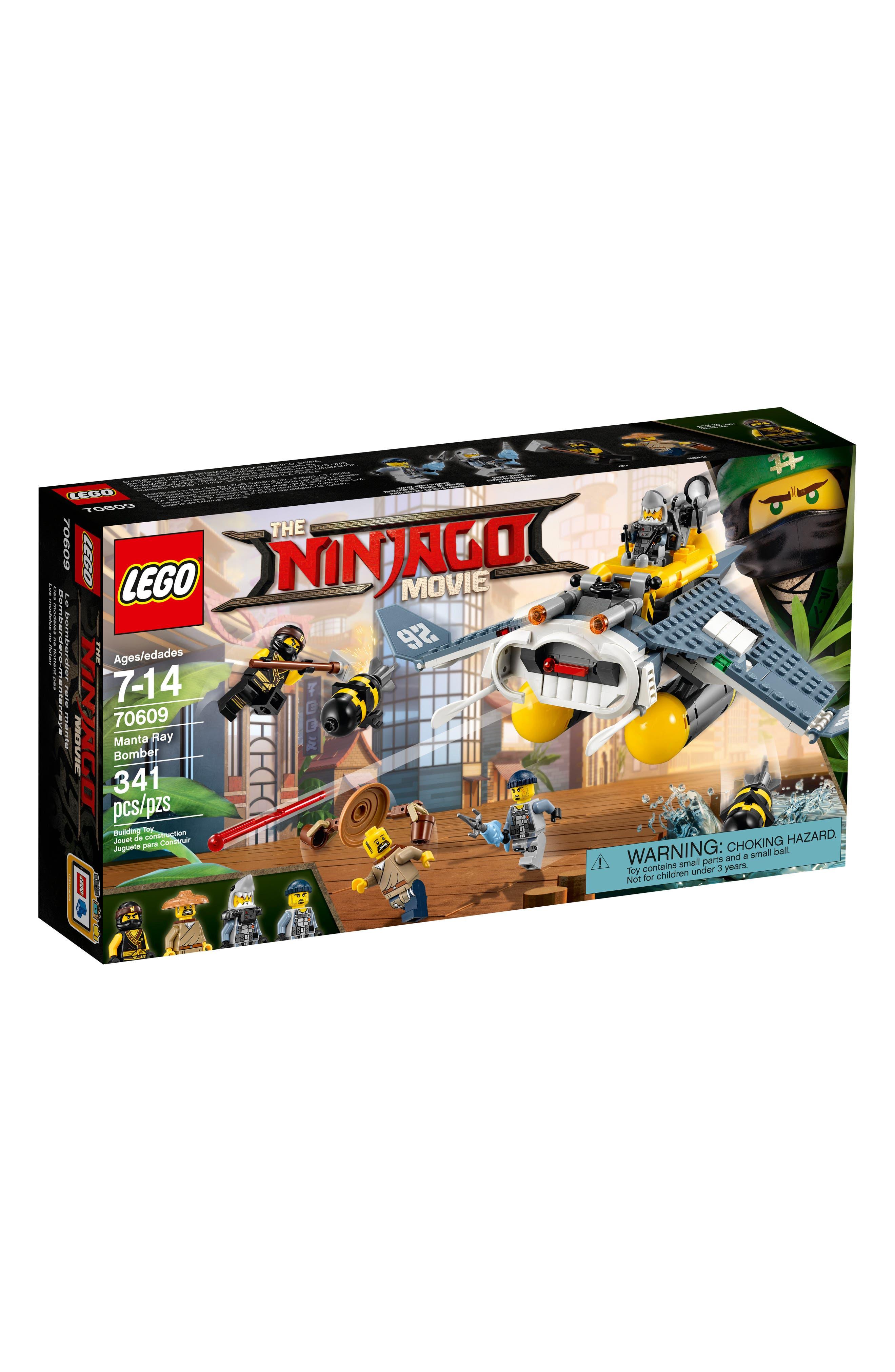 LEGO® THE NINJAGO® MOVIE™ Manta Ray Bomber Play Set - 70609