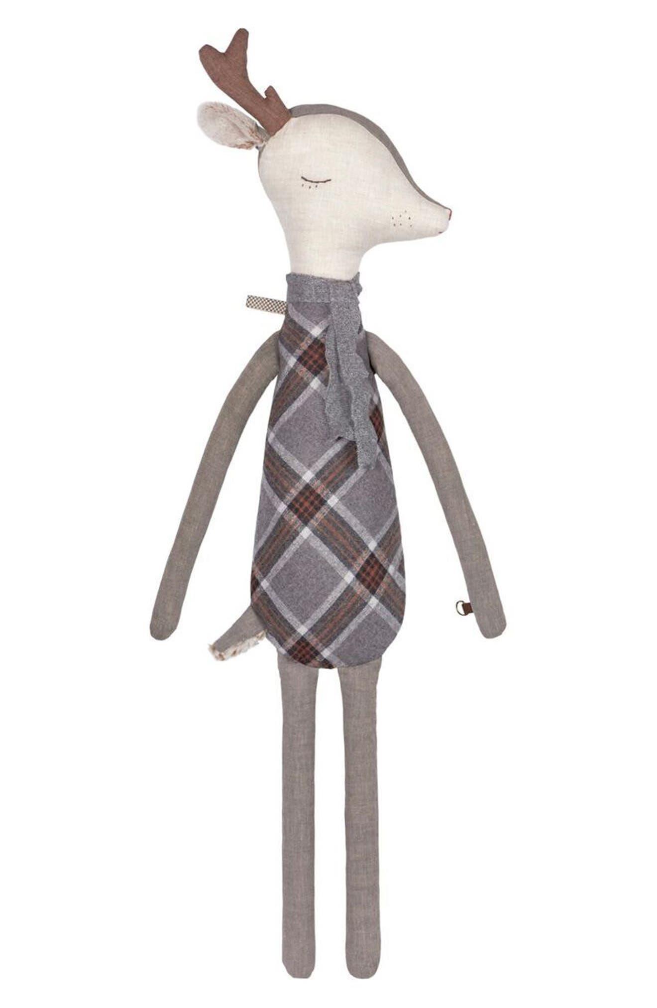 Maileg Sleepy-Wakey Mega Reindeer Stuffed Animal