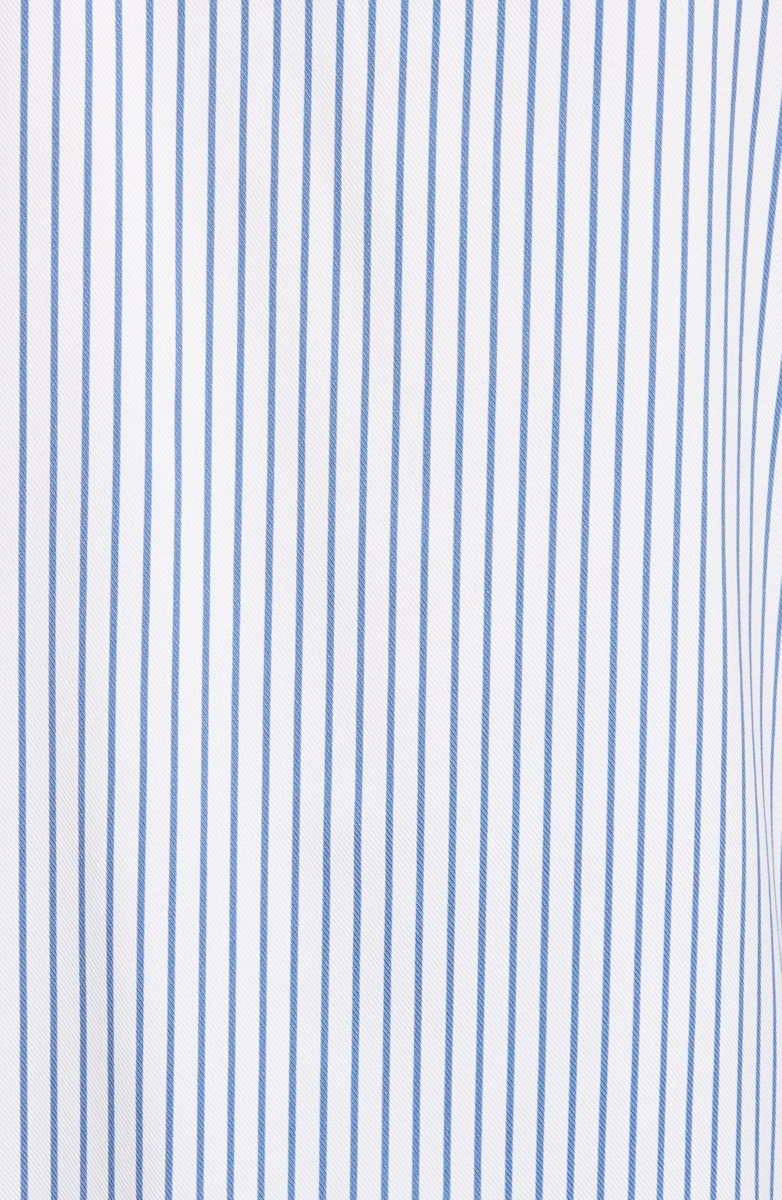 Layered Jersey Knit Cardigan,                             Alternate thumbnail 5, color,                             Niagara