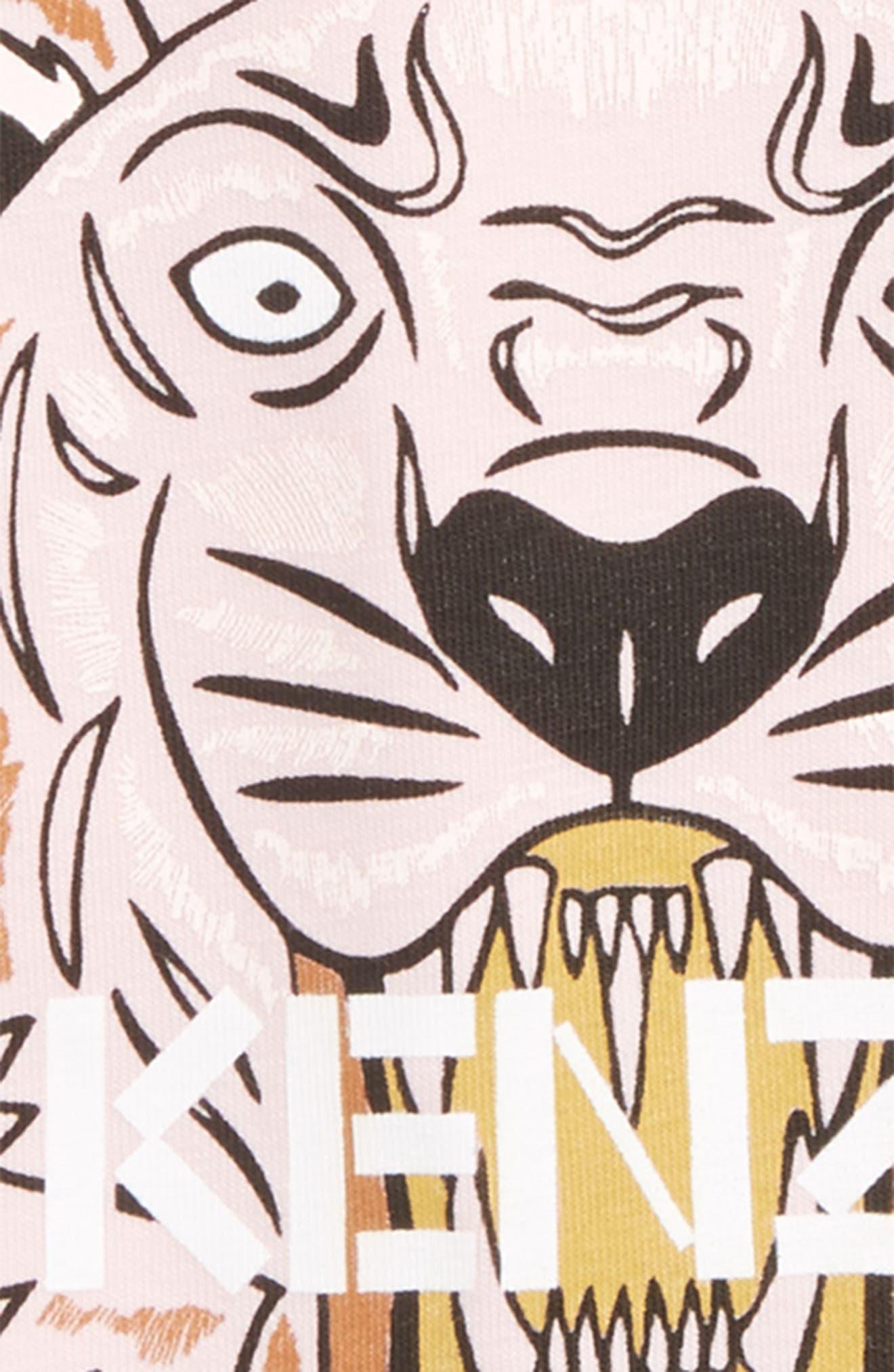 Alternate Image 2  - KENZO Tiger Tee (Baby Girls)