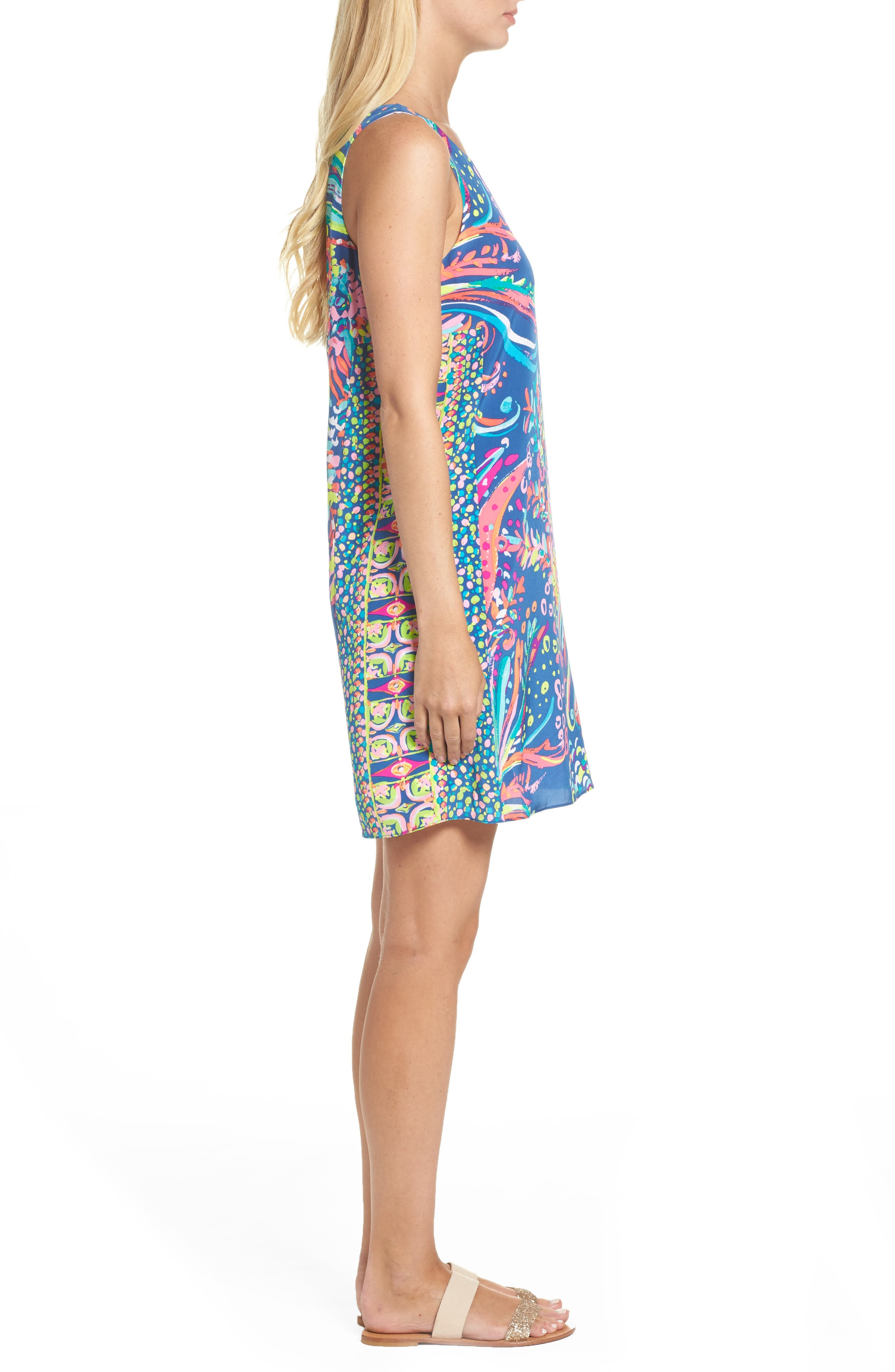 Alternate Image 3  - Lilly Pulitzer® Jackie Silk Shift Dress