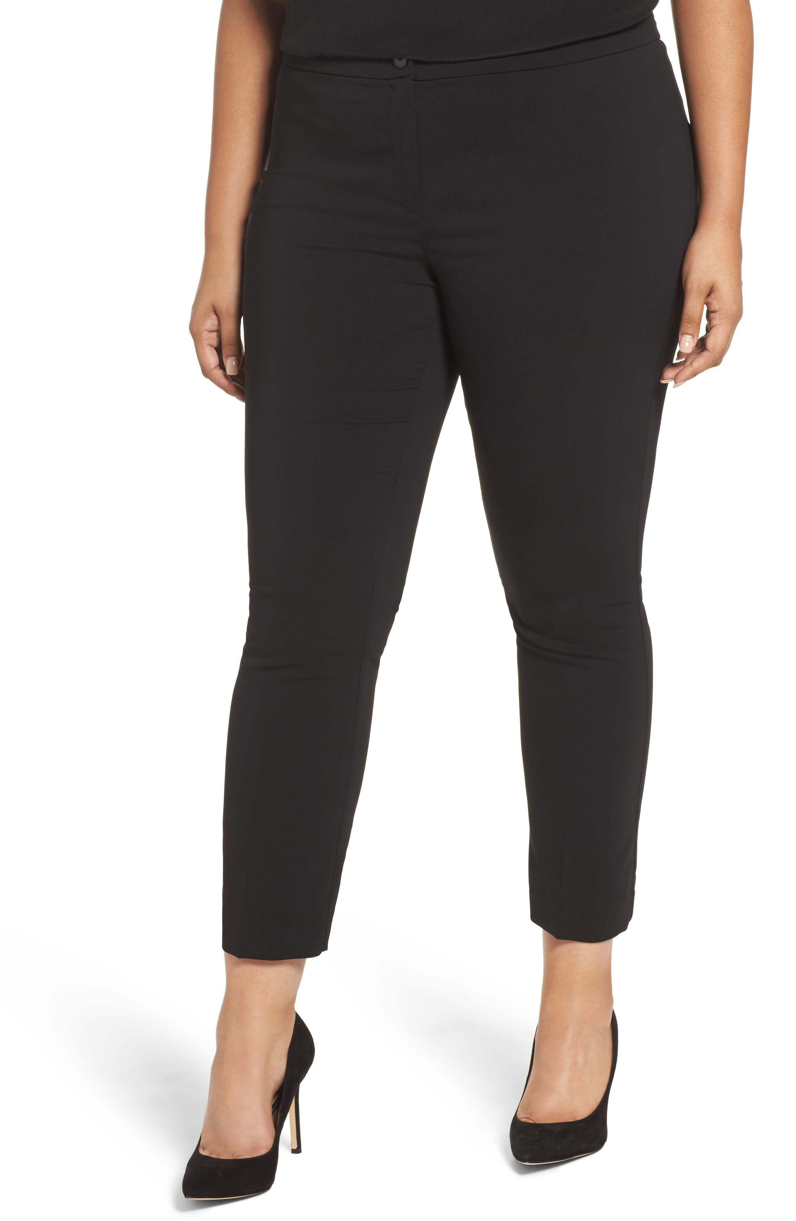 Remi Ankle Pants,                         Main,                         color, Black