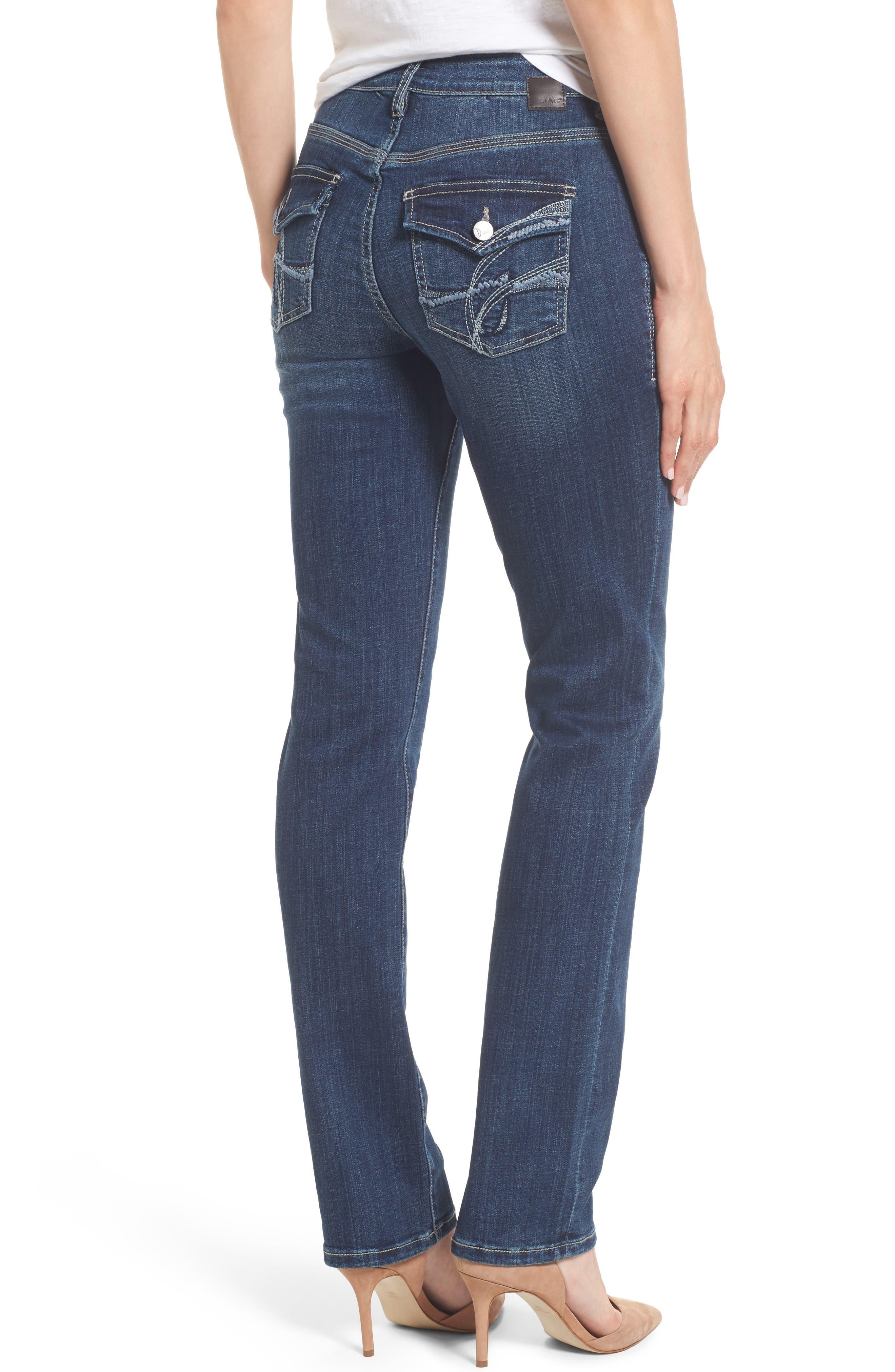 Adrian Straight Leg Jeans,                             Alternate thumbnail 2, color,                             Thorne Blue