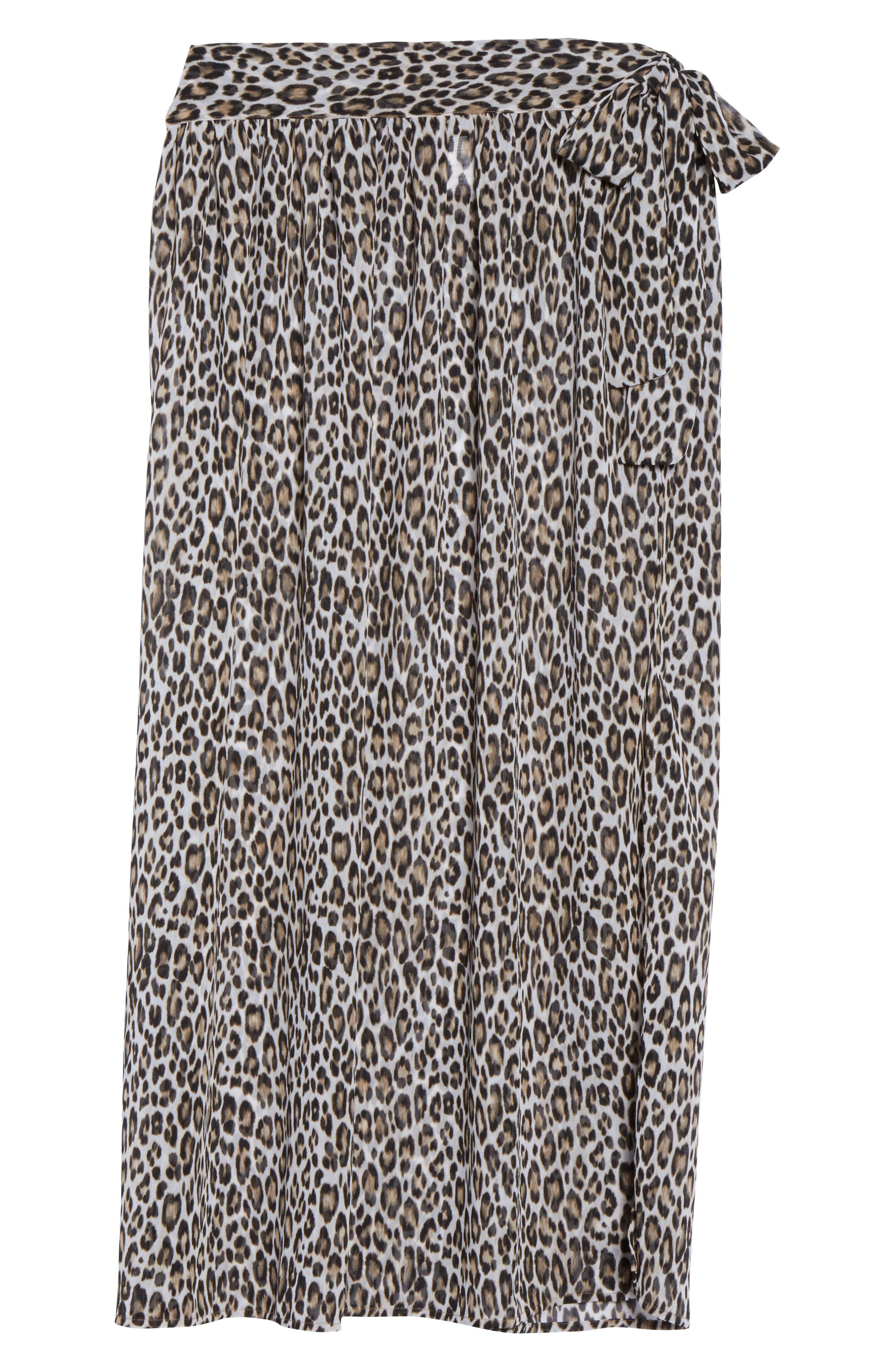 Cat's Meow Cover-Up Maxi Skirt,                             Alternate thumbnail 6, color,                             Handlewood