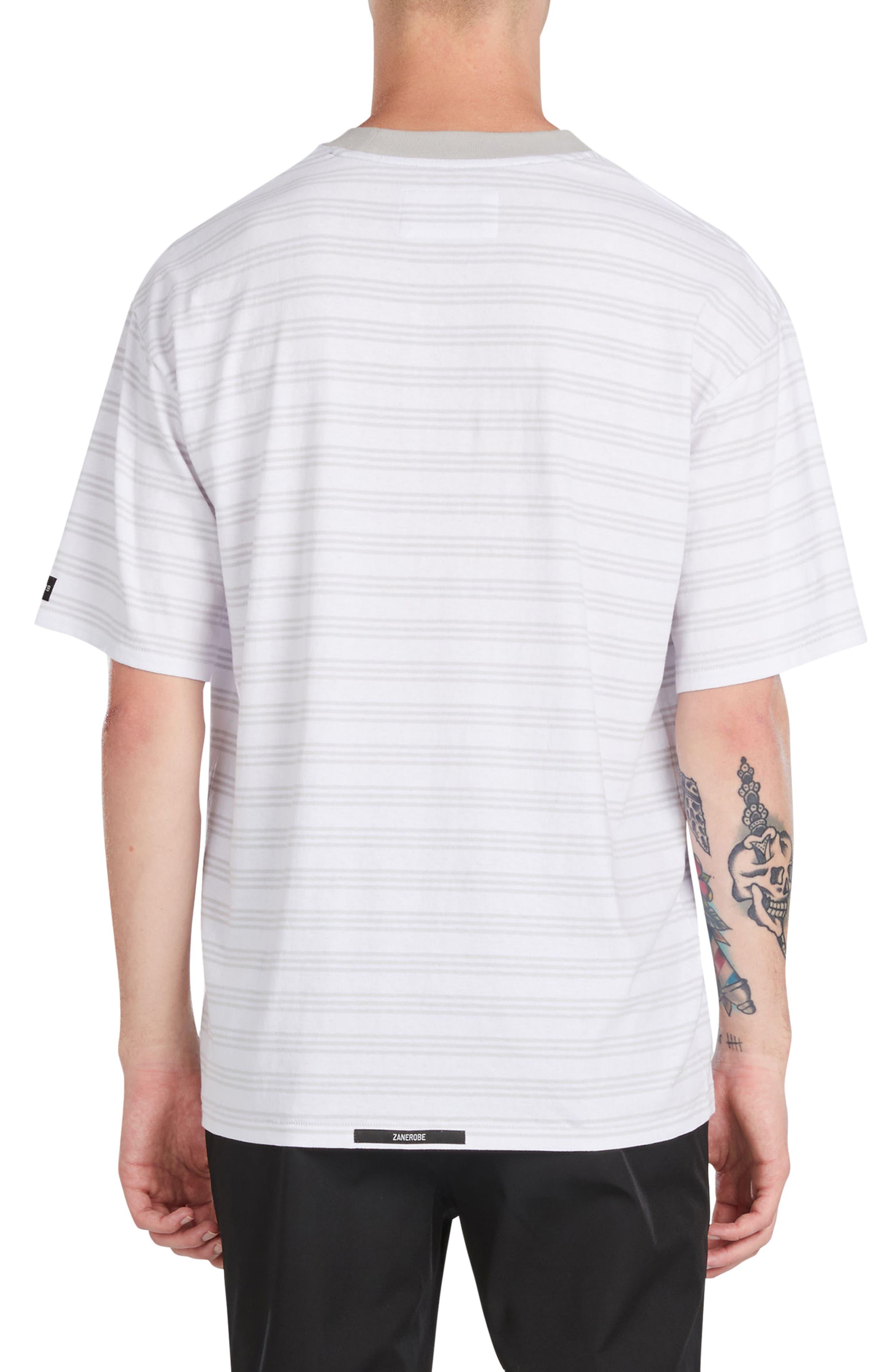 Alternate Image 2  - ZANEROBE Box Stripe T-Shirt