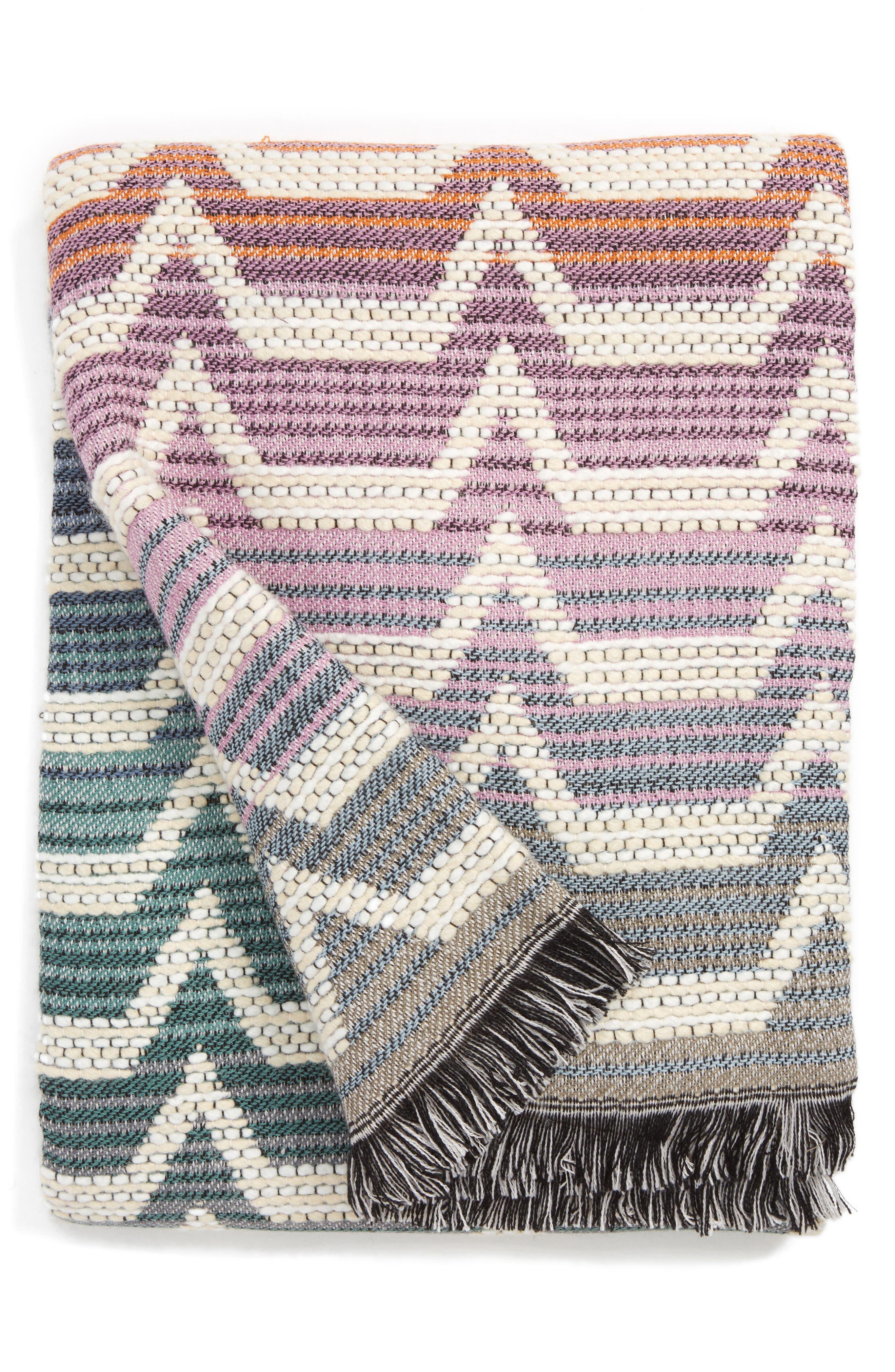 Main Image - Missoni Socrate Throw Blanket