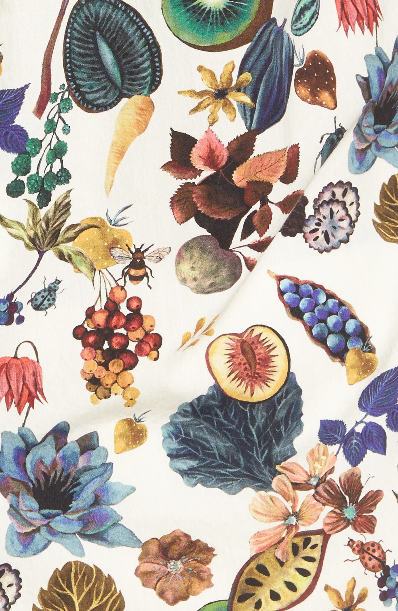 Aldamere Sports Fit Sport Shirt,                             Alternate thumbnail 5, color,                             Botanical