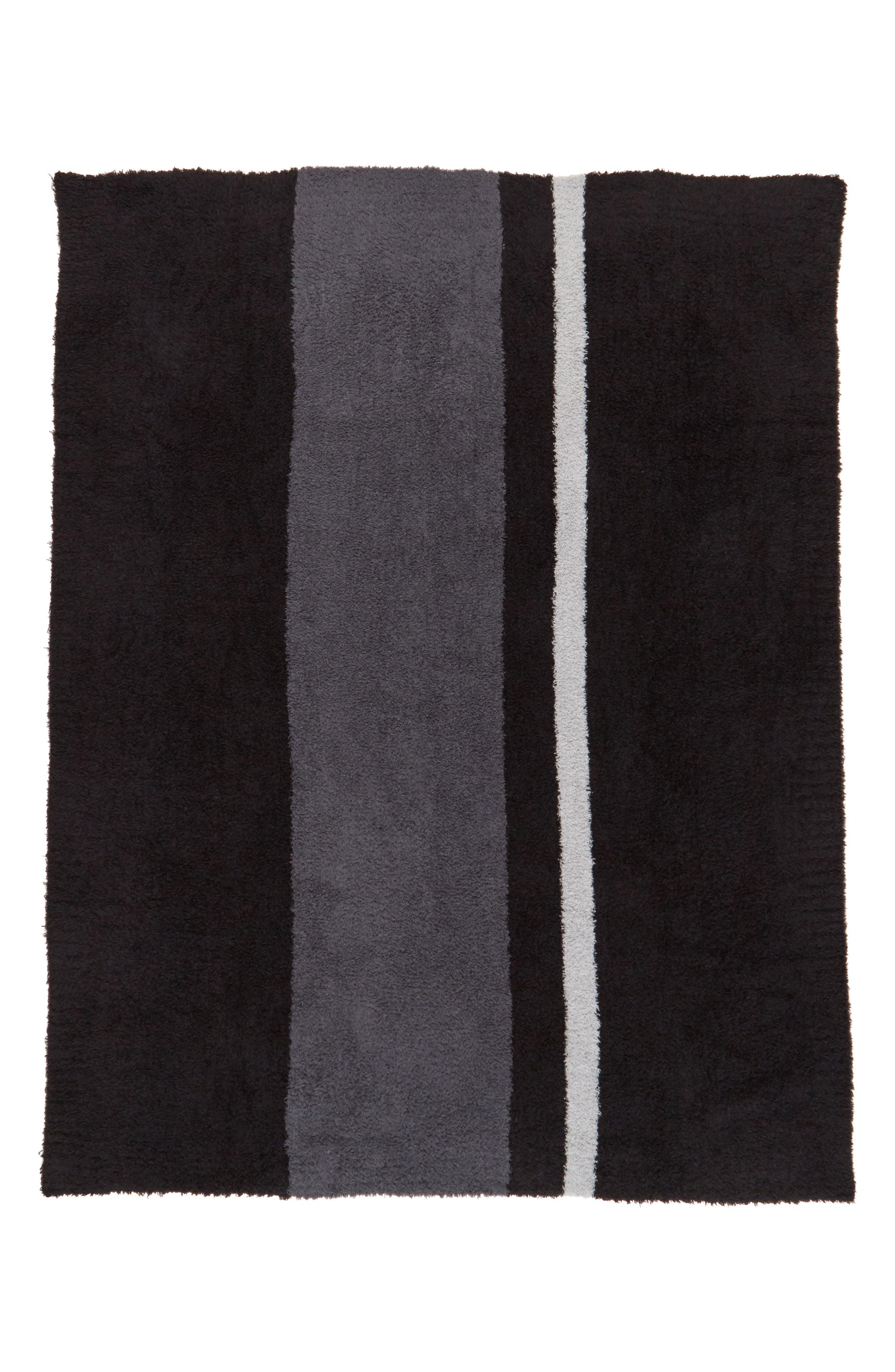 Alternate Image 2  - Barefoot Dreams® Cozychic® Block Stripe Throw Blanket