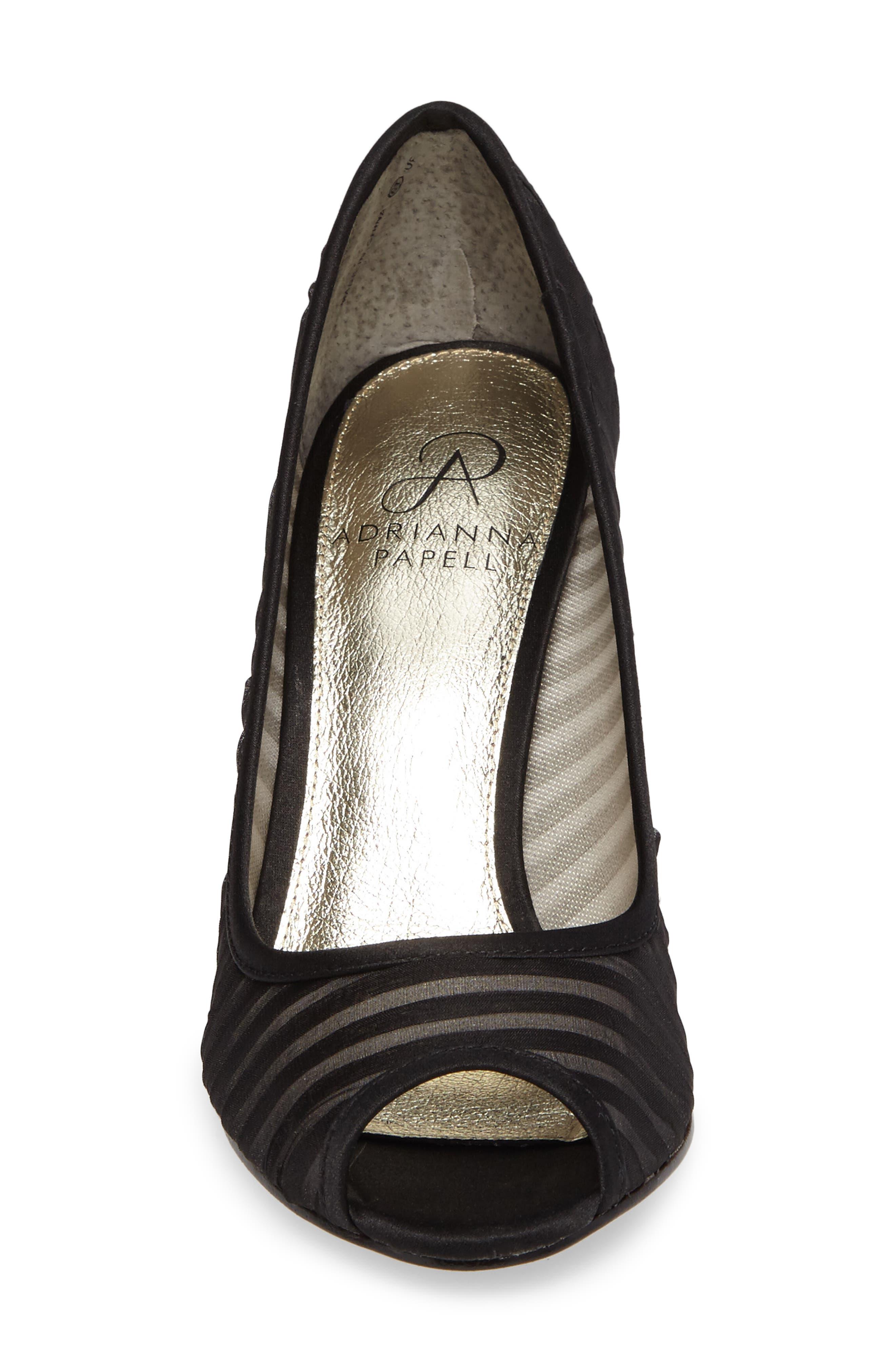 Alternate Image 4  - Adrianna Papell Flirt Peep Toe Pump (Women)