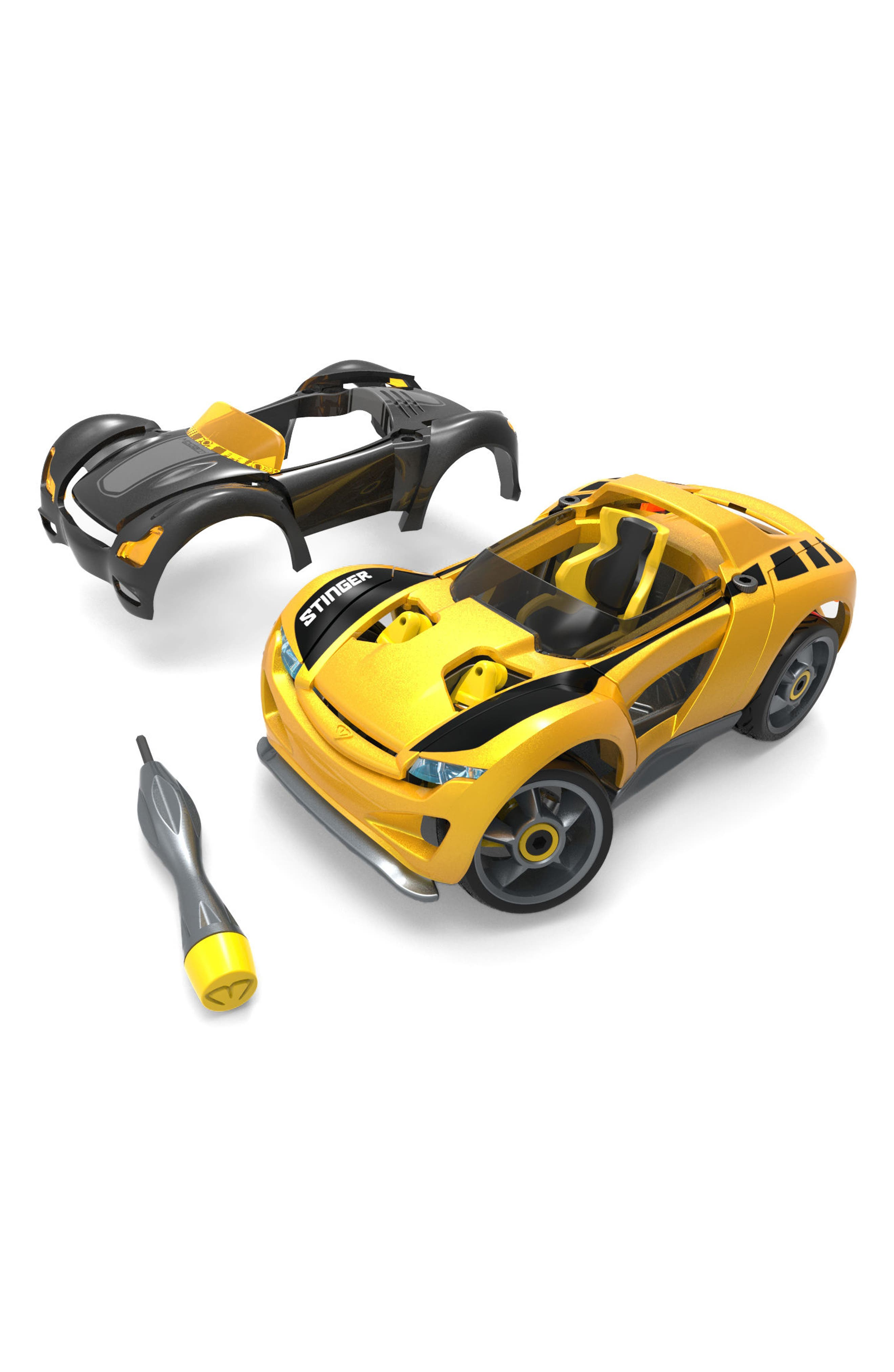 Delux S1 Stinger Car Kit,                         Main,                         color, Yellow