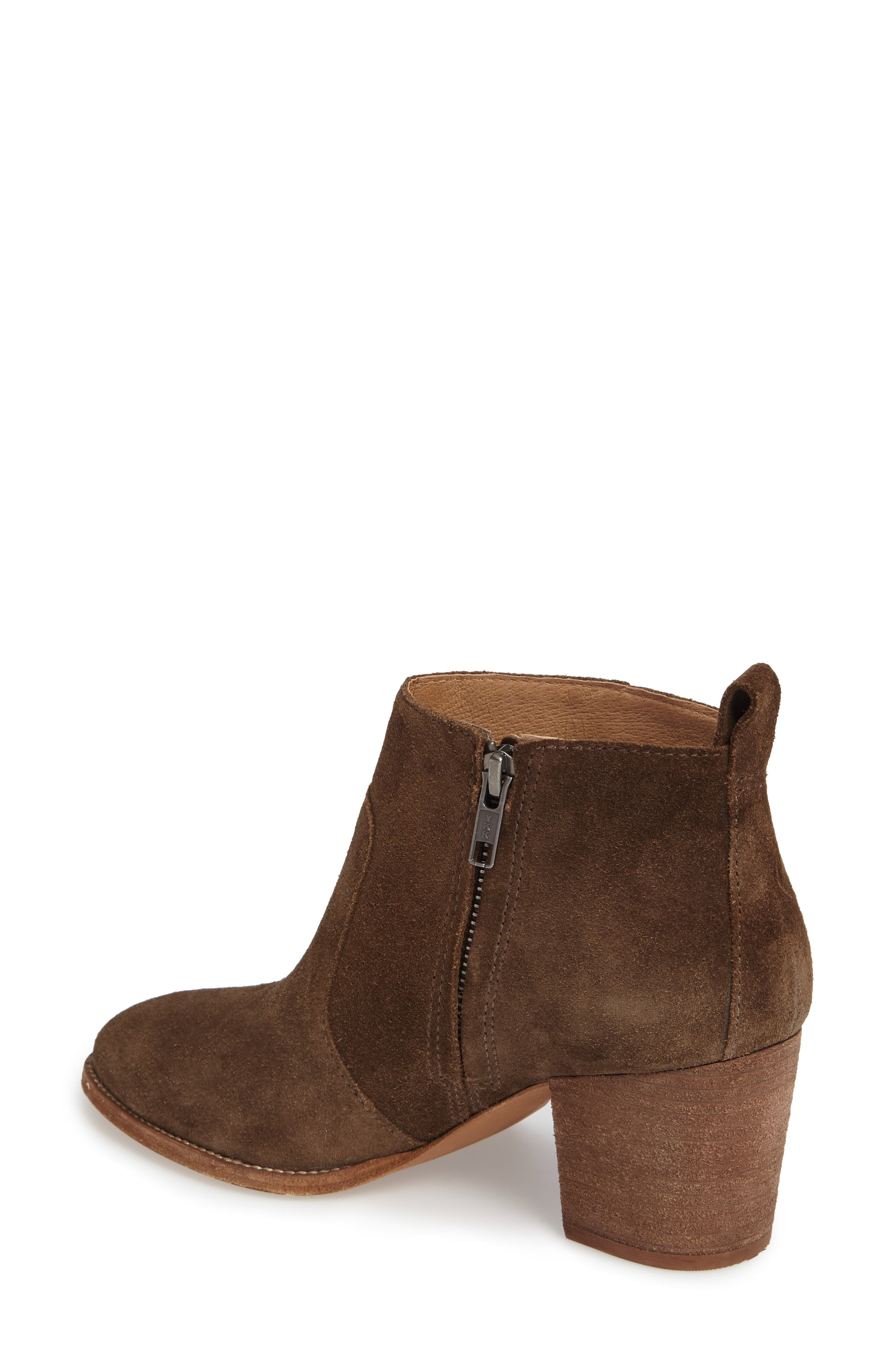 Brenner Bootie,                             Alternate thumbnail 2, color,                             Mink Suede