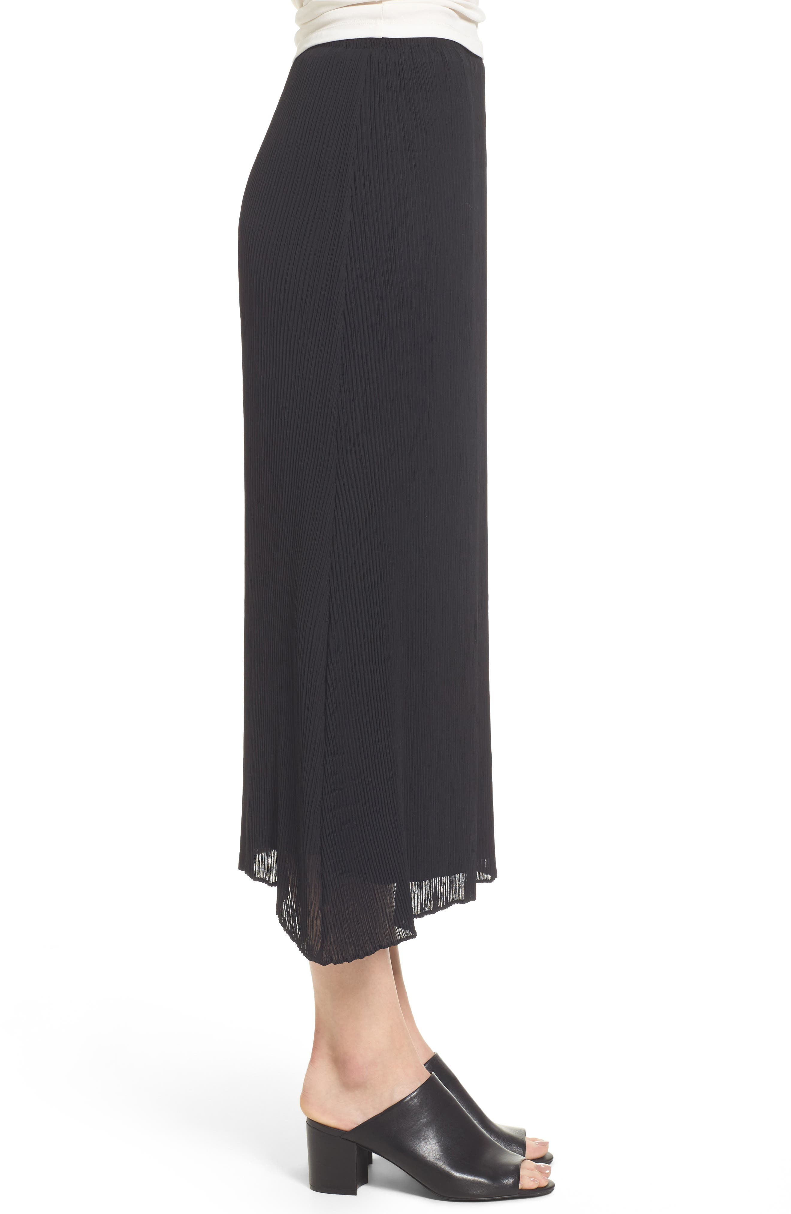 Alternate Image 3  - Eileen Fisher Pleated Midi Skirt