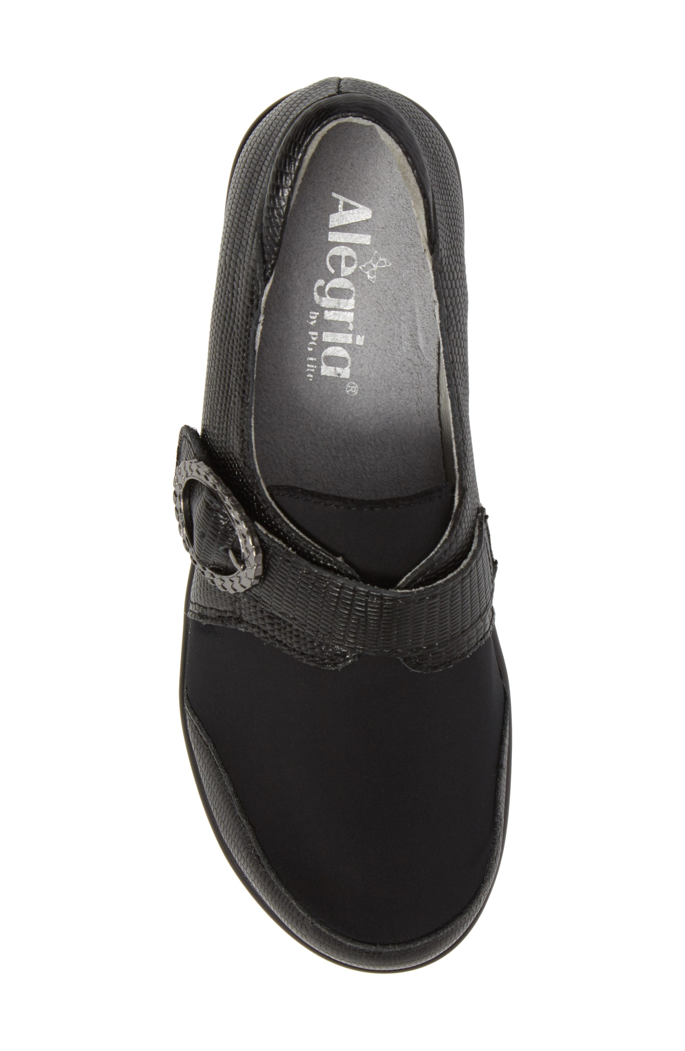Holli Pump,                             Alternate thumbnail 5, color,                             Spiffy Black Leather