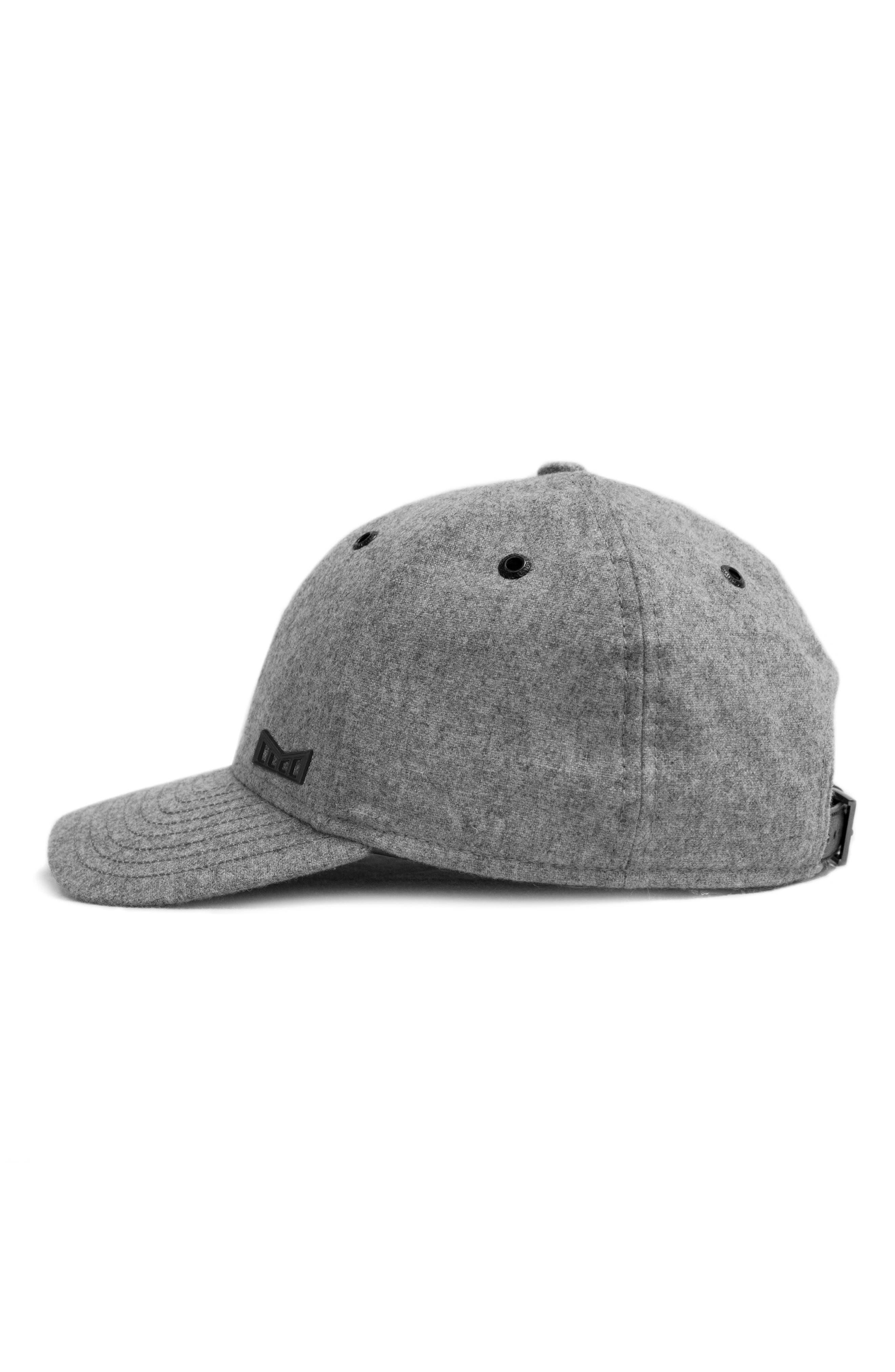 'Glory Days' Strapback Baseball Cap,                             Alternate thumbnail 3, color,                             Gray