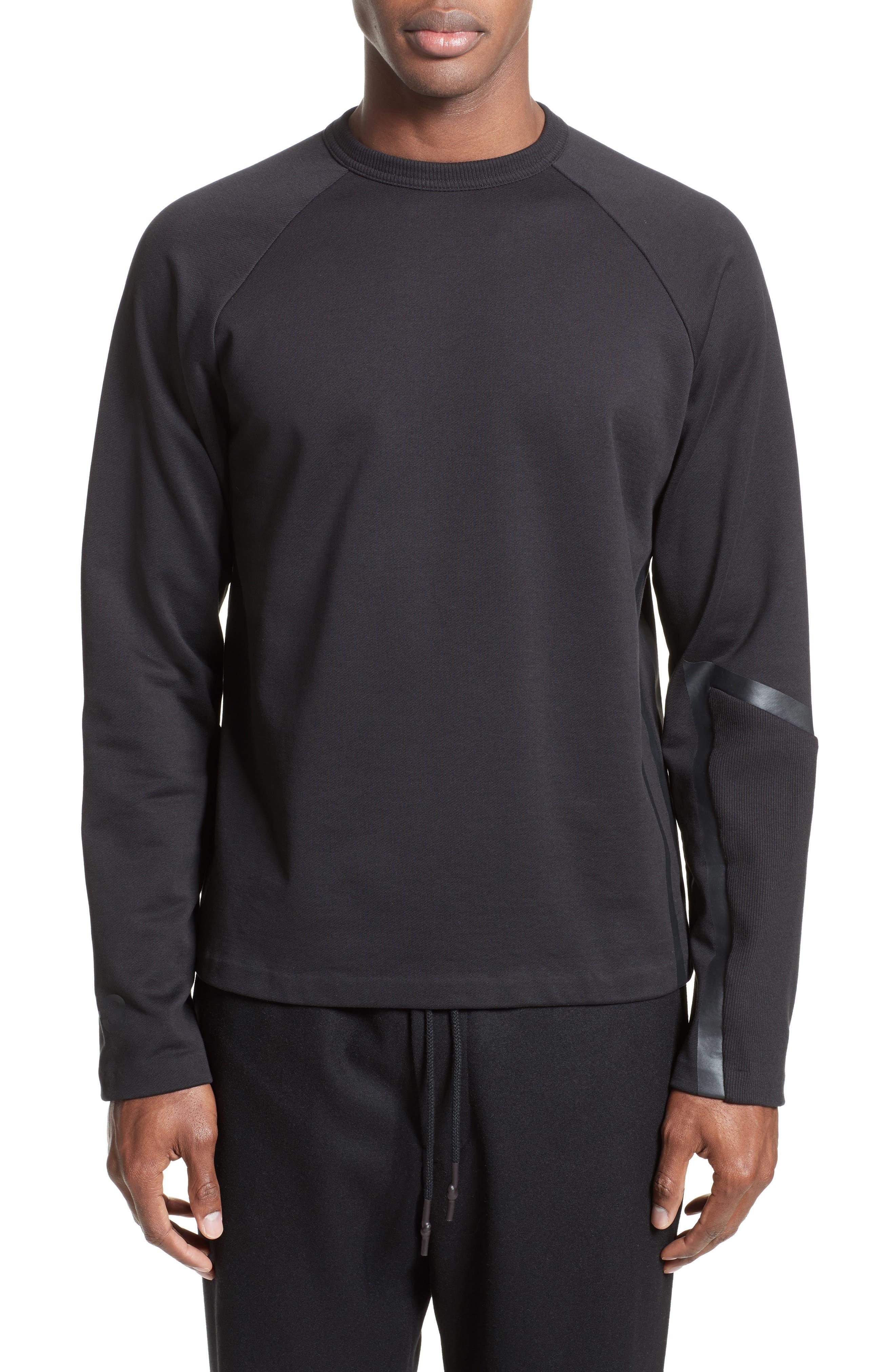 Y-3 Geo Stripe Raglan Sweatshirt